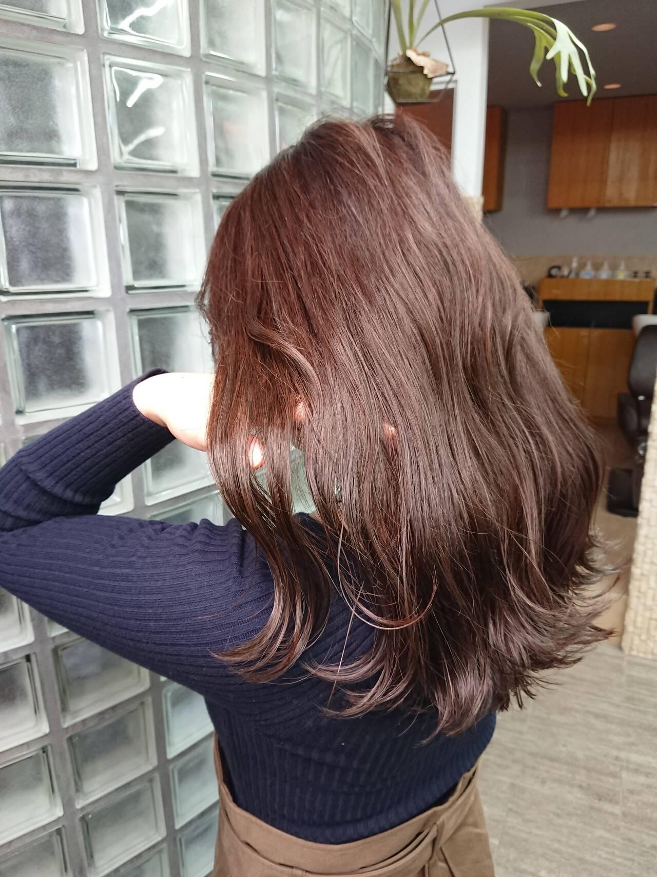 TOKIOトリートメント エレガント ミディアム イルミナカラーヘアスタイルや髪型の写真・画像