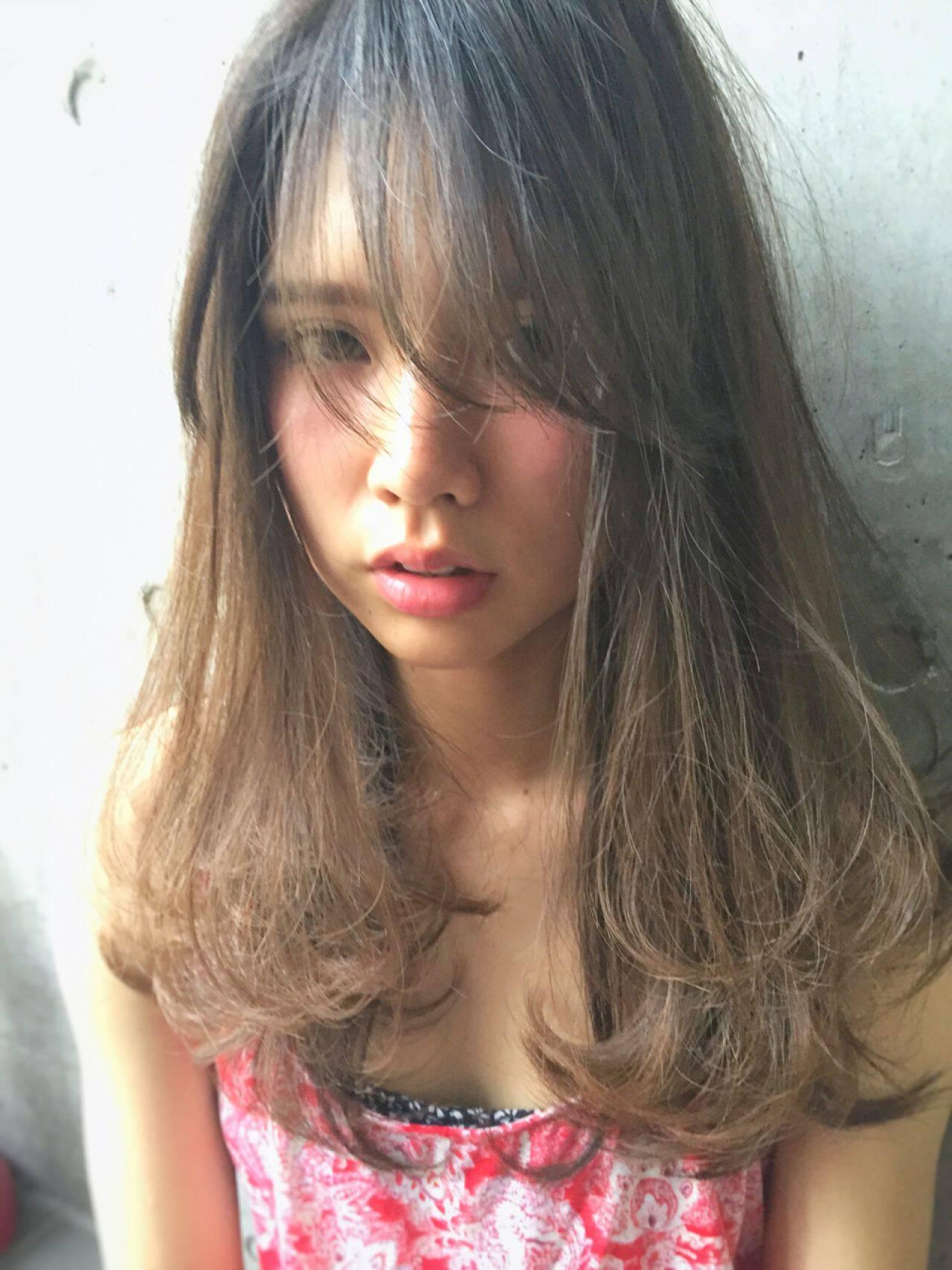 ストリート グラデーションカラー ハイライト 外国人風ヘアスタイルや髪型の写真・画像