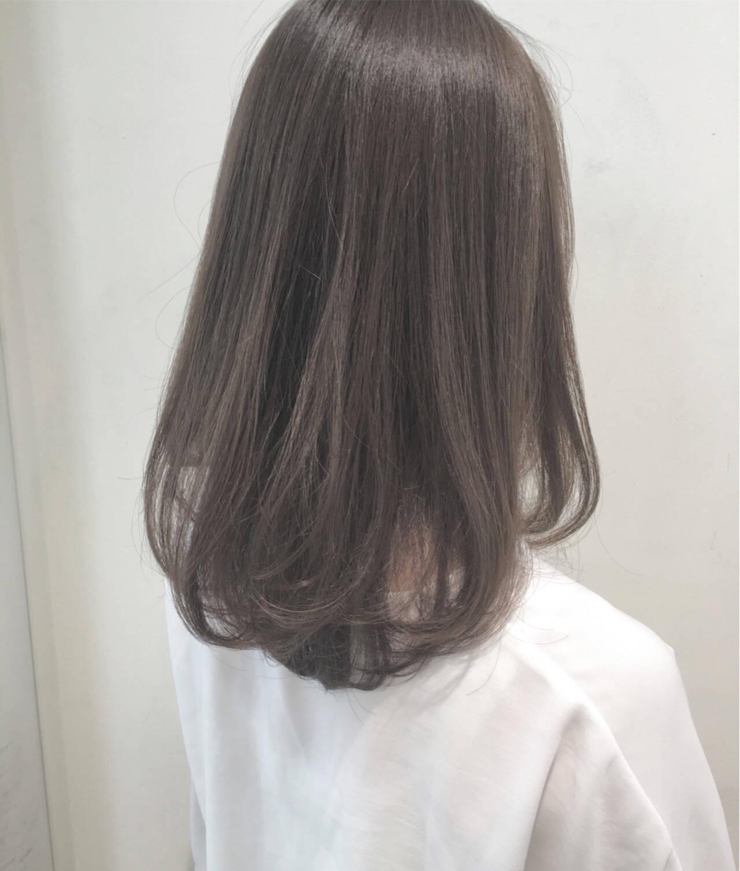 ロング 秋 ナチュラル 暗髪ヘアスタイルや髪型の写真・画像