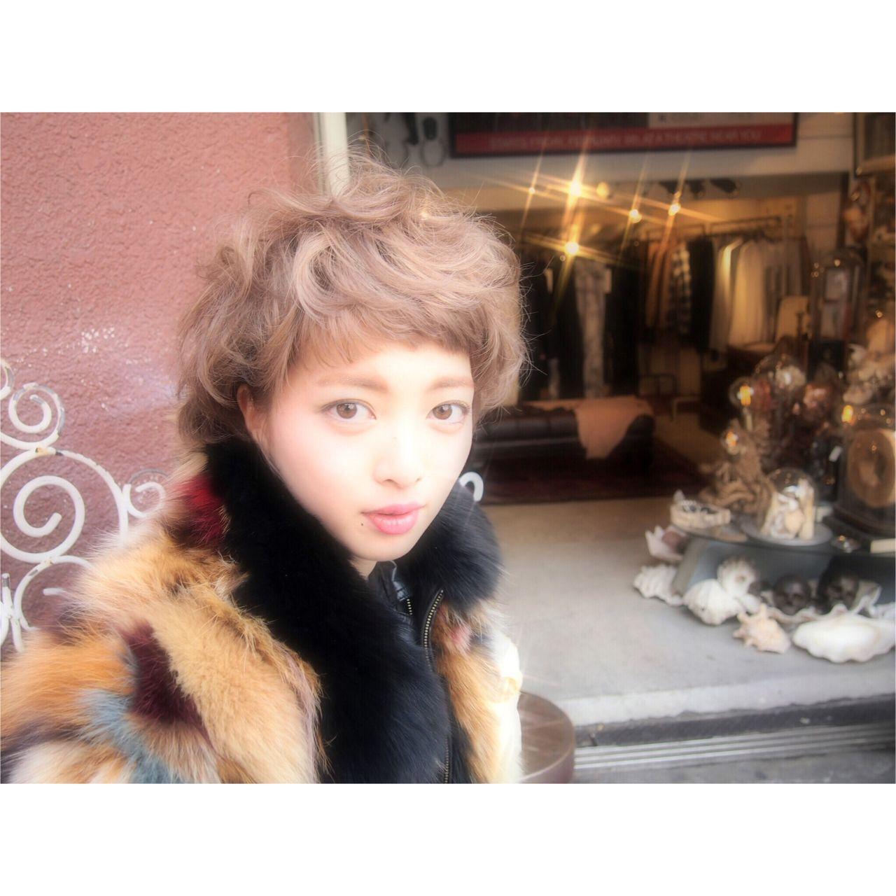 ショート ストリート 外国人風ヘアスタイルや髪型の写真・画像