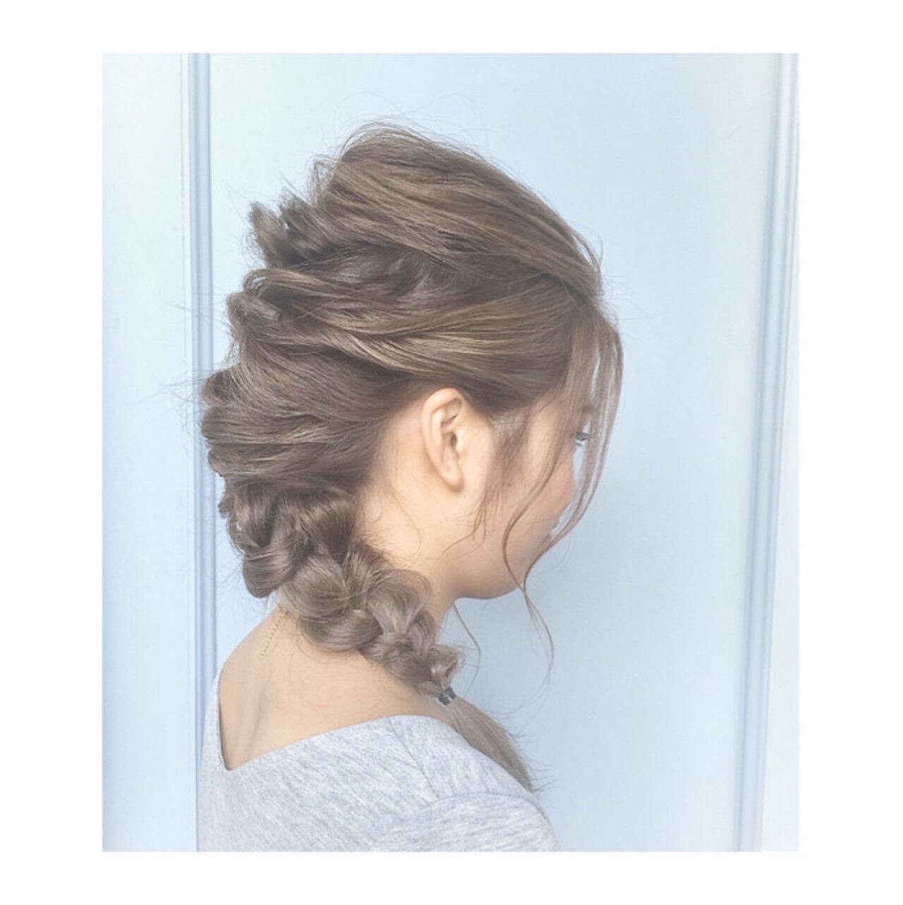 ロング ゆるふわ 外国人風 ヘアアレンジヘアスタイルや髪型の写真・画像