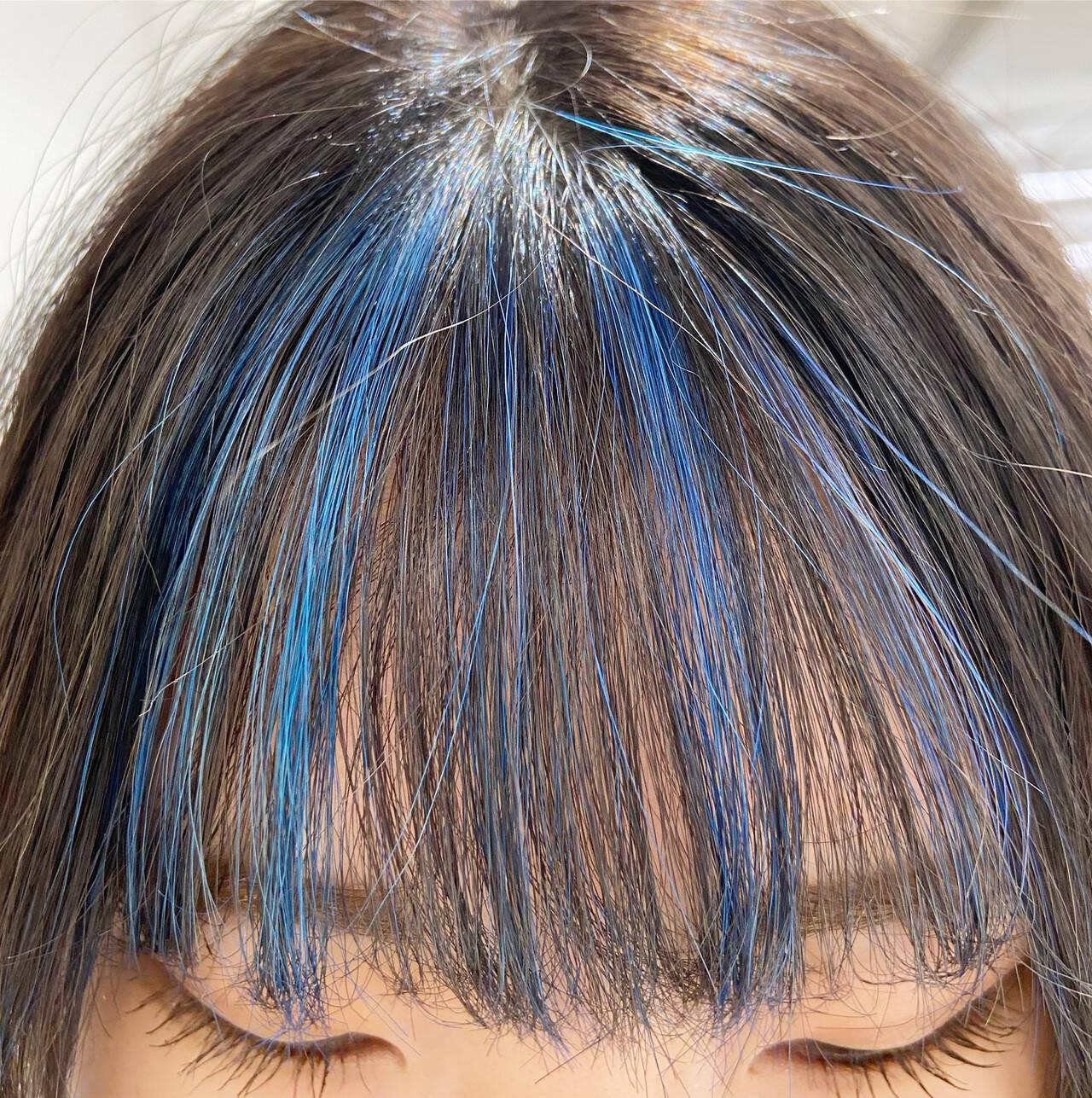 コントラストハイライト フェミニン 極細ハイライト 3Dハイライトヘアスタイルや髪型の写真・画像