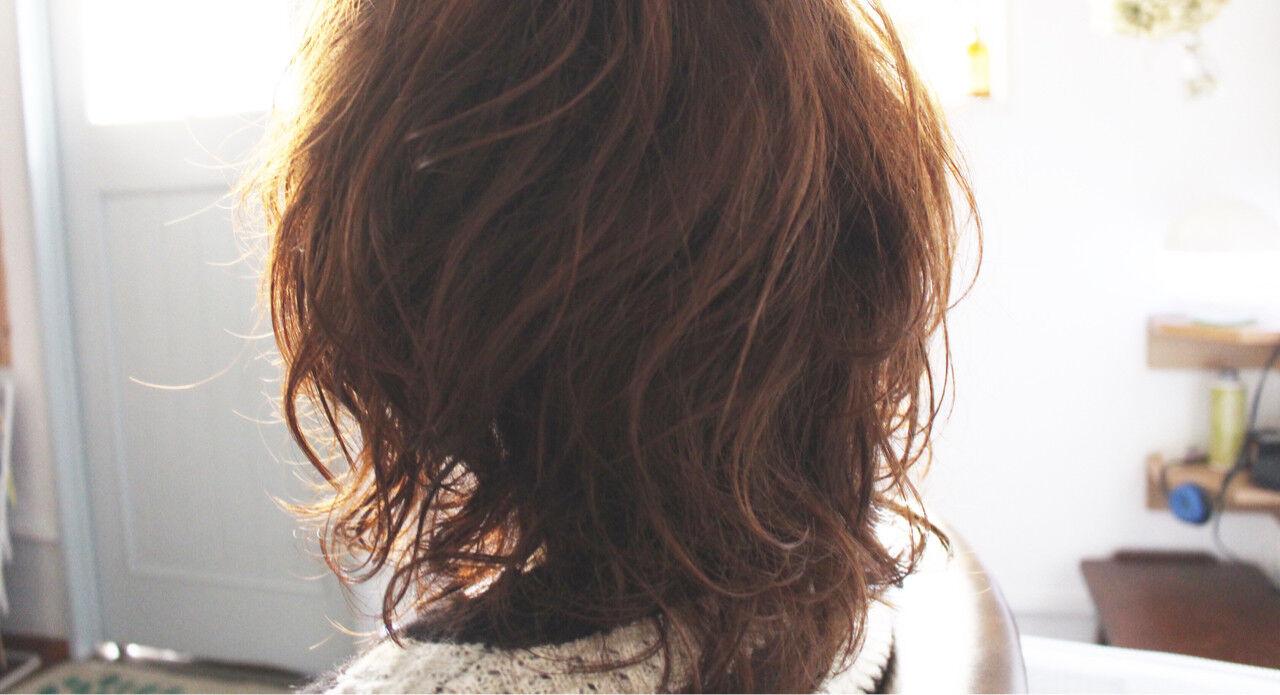 ミディアム 小顔 大人かわいい フェミニンヘアスタイルや髪型の写真・画像