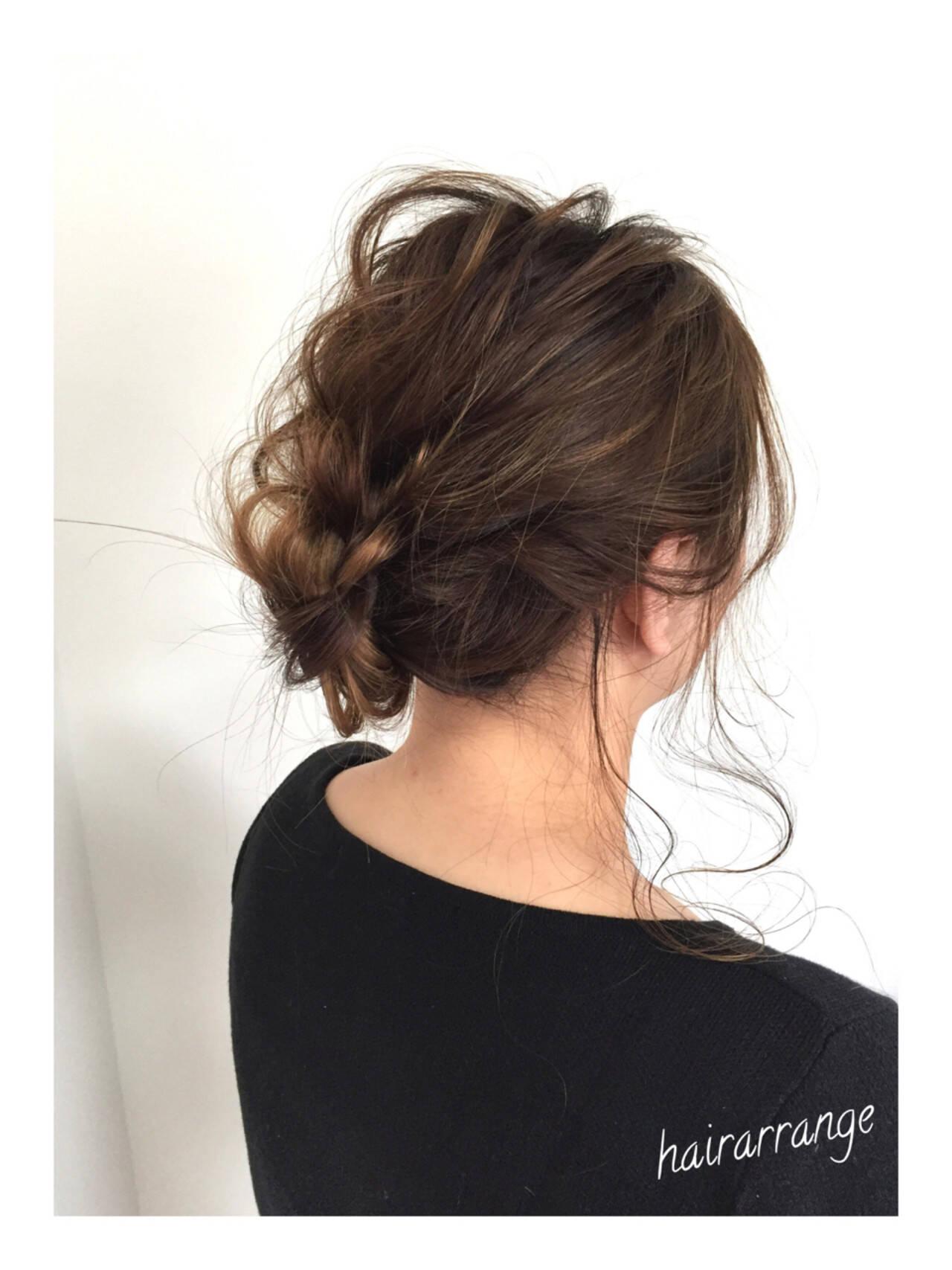 デート ヘアアレンジ 涼しげ 色気ヘアスタイルや髪型の写真・画像