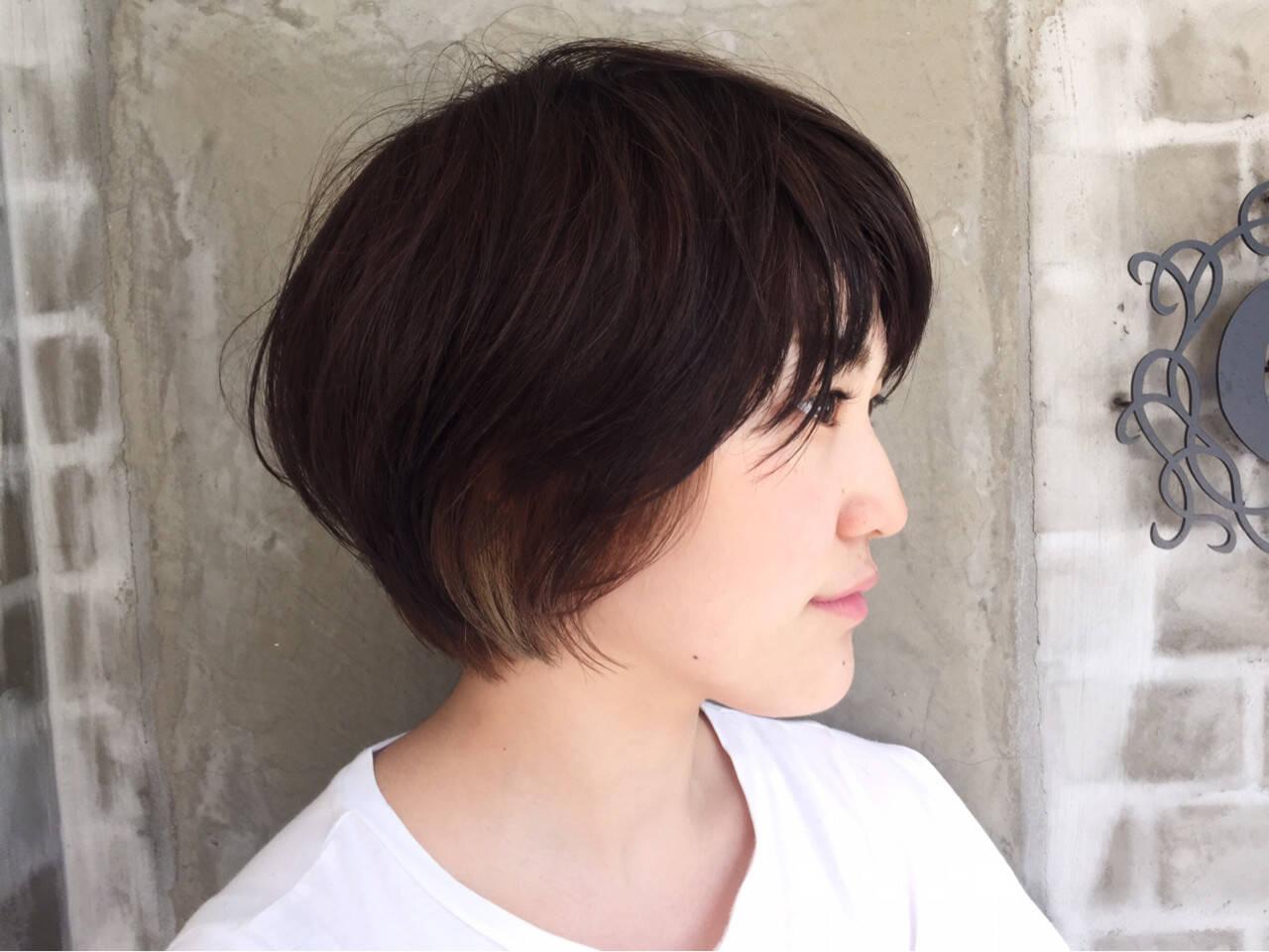 ダブルカラー ハイライト ブリーチ インナーカラーヘアスタイルや髪型の写真・画像