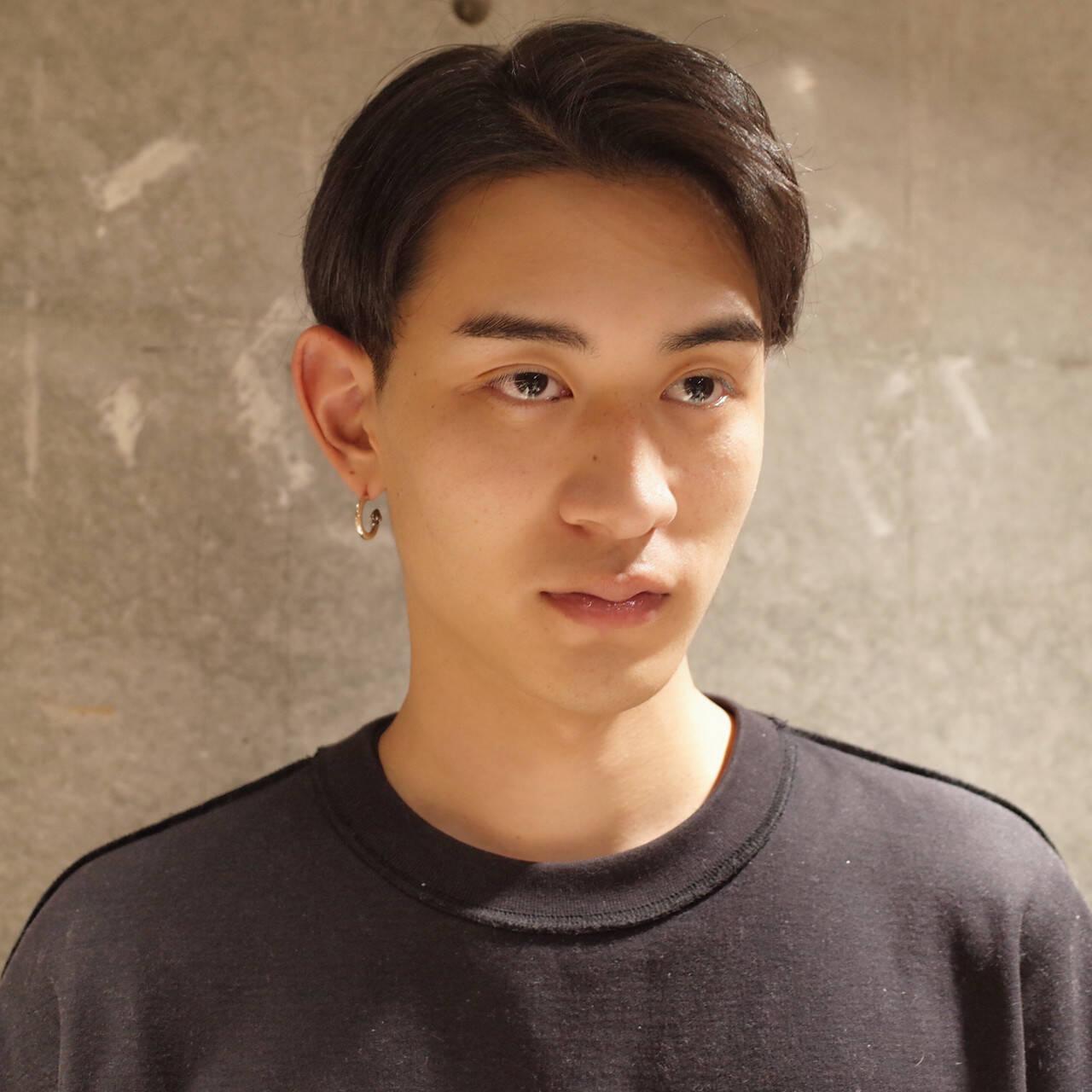 メンズ メンズヘア 刈り上げ ショートヘアスタイルや髪型の写真・画像