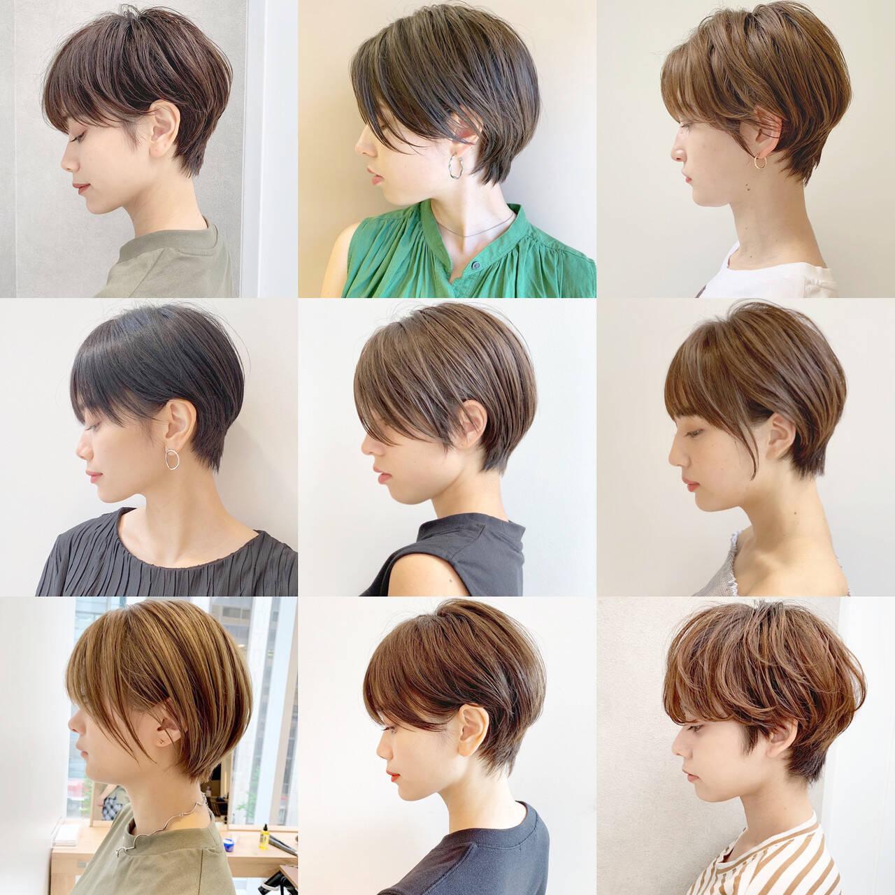 ショート アウトドア スポーツ モードヘアスタイルや髪型の写真・画像