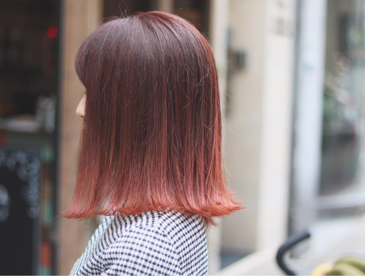 イルミナカラー オルチャン デート アウトドアヘアスタイルや髪型の写真・画像