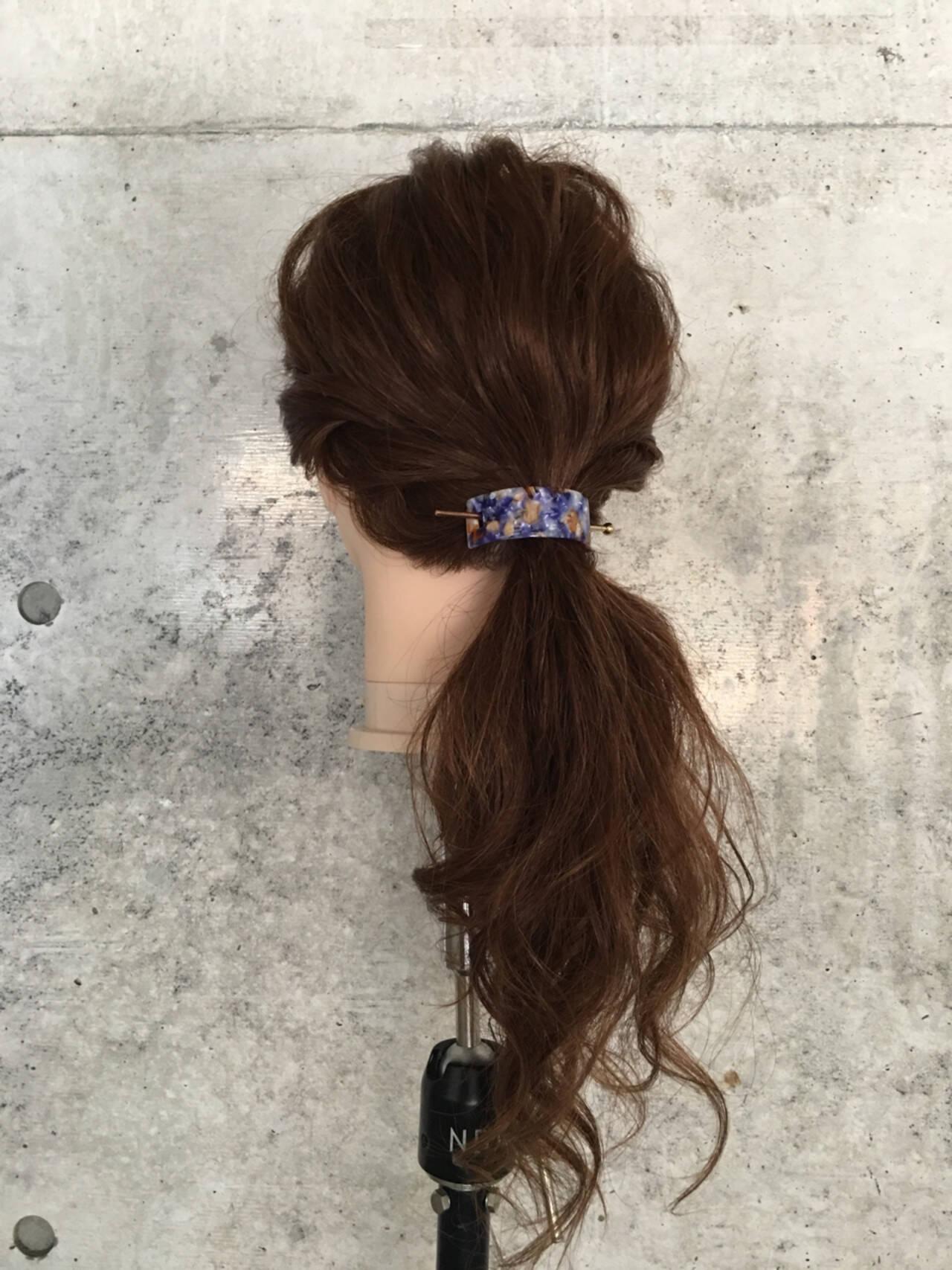デート ナチュラル 結婚式 女子会ヘアスタイルや髪型の写真・画像