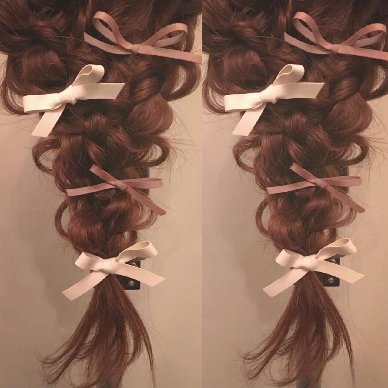 ヘアアレンジ ロングヘアスタイルや髪型の写真・画像