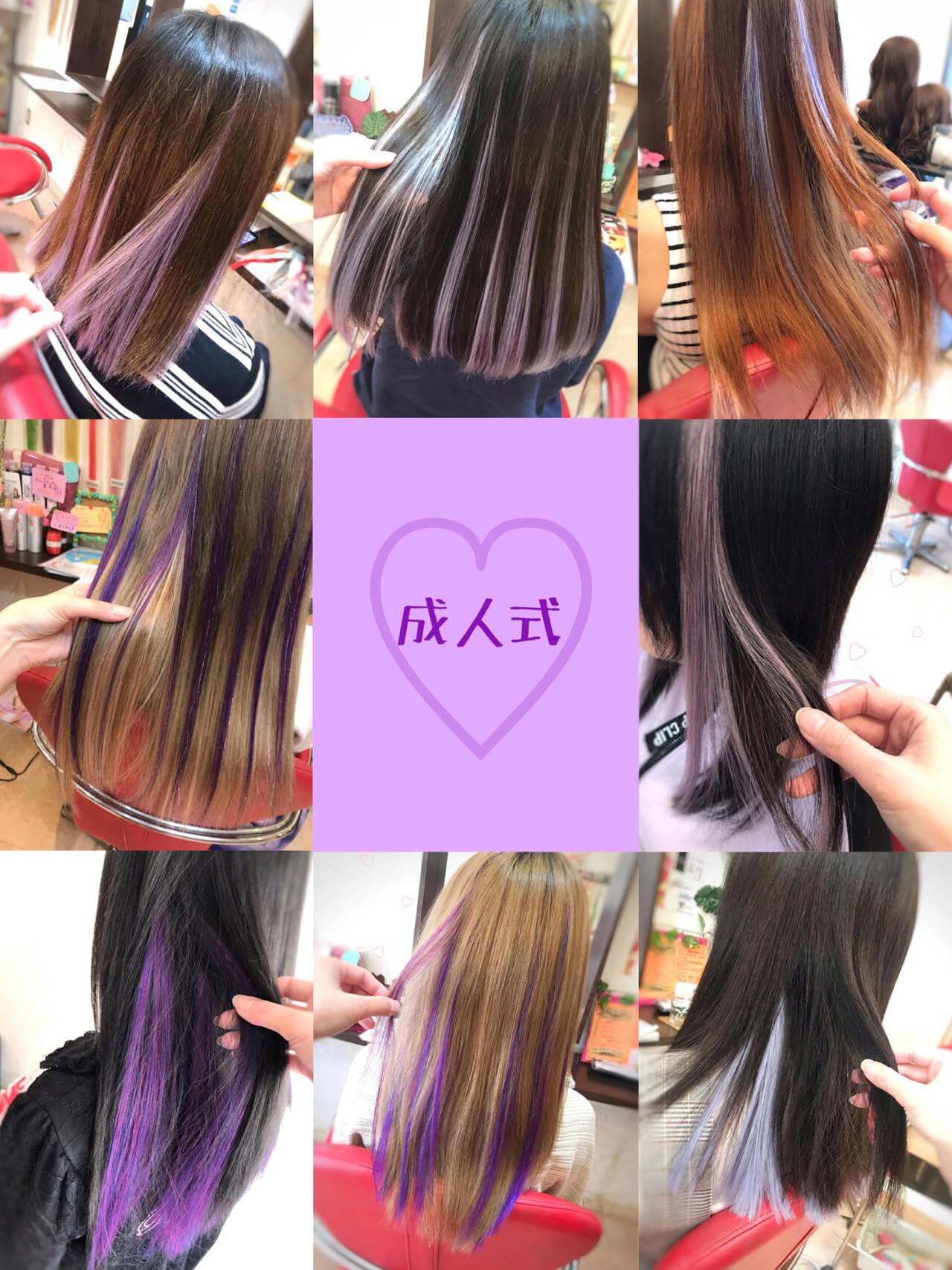 成人式ヘア 成人式 ロング ストリートヘアスタイルや髪型の写真・画像