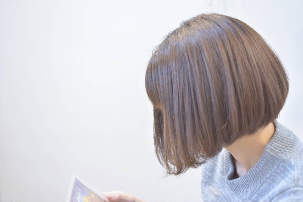 ミルクティー ナチュラル グレージュ 外国人風カラーヘアスタイルや髪型の写真・画像