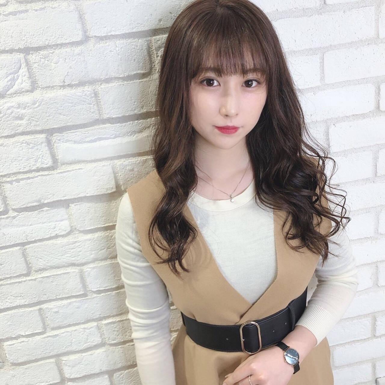 モテ髪 コンサバ oggiotto アディクシーカラーヘアスタイルや髪型の写真・画像