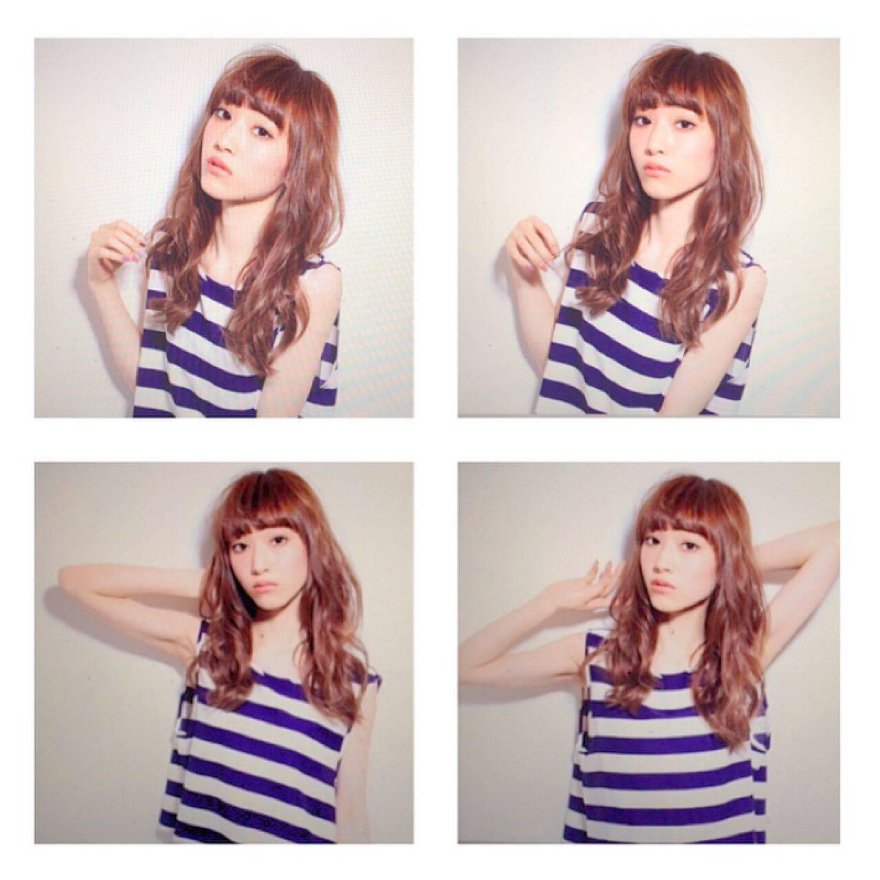 ウェーブ ストリート パンク 春ヘアスタイルや髪型の写真・画像