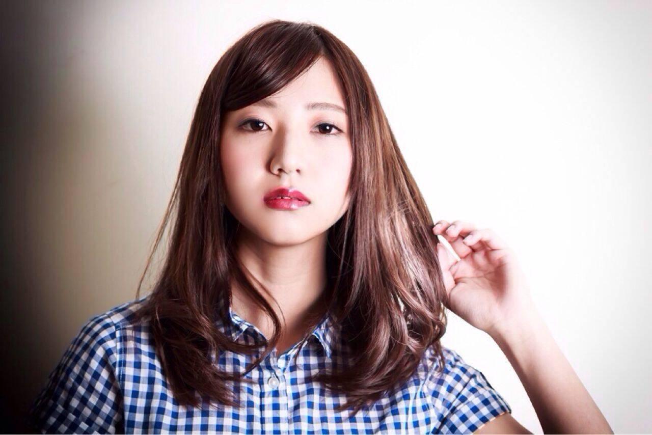 ミディアム ナチュラル 簡単 大人かわいいヘアスタイルや髪型の写真・画像