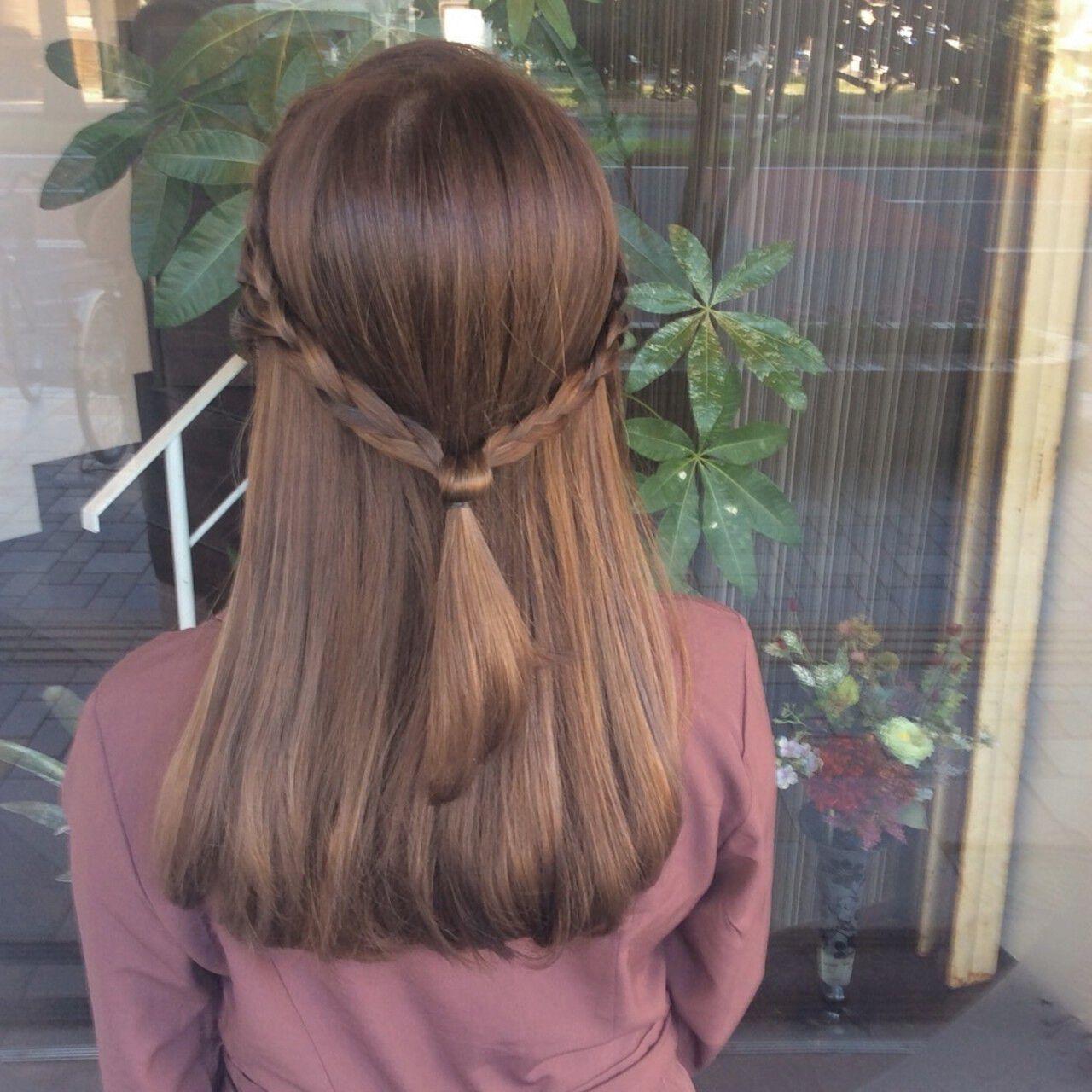 ナチュラル ミディアム ラベンダー ラベンダーカラーヘアスタイルや髪型の写真・画像