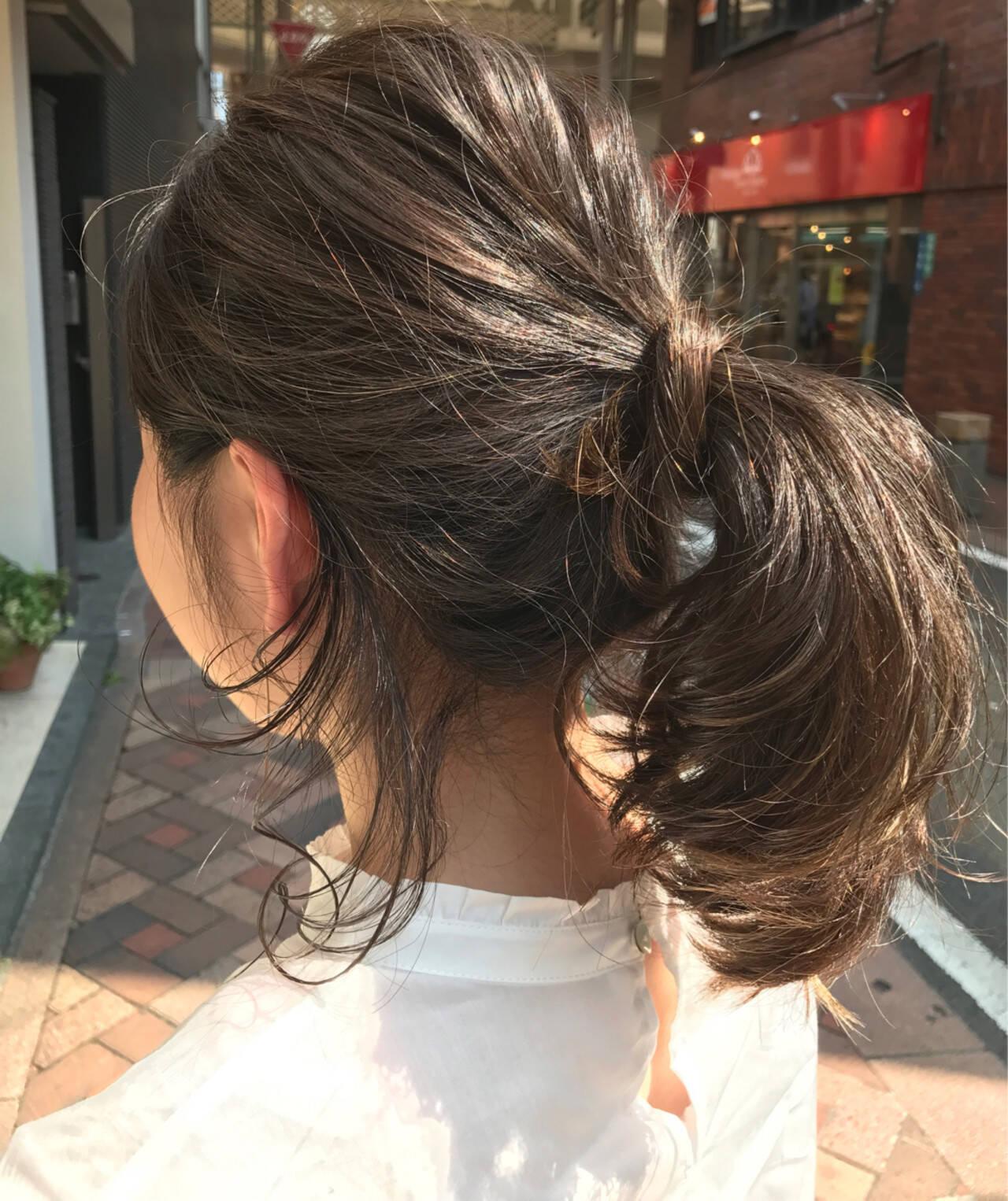 ハイライト グレージュ ナチュラル 外国人風カラーヘアスタイルや髪型の写真・画像
