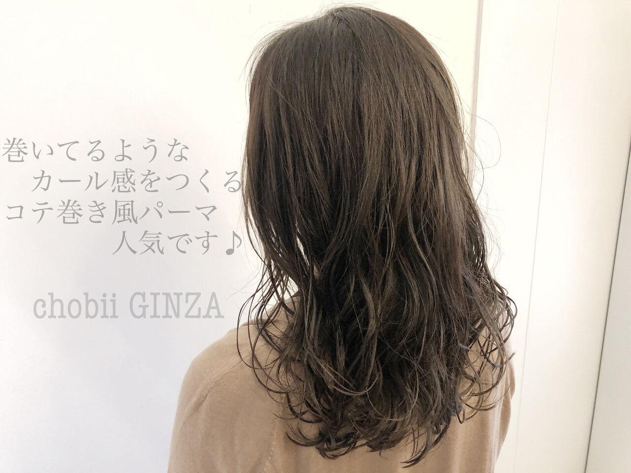 ナチュラル ロング ゆるふわパーマ ヘアスタイルヘアスタイルや髪型の写真・画像