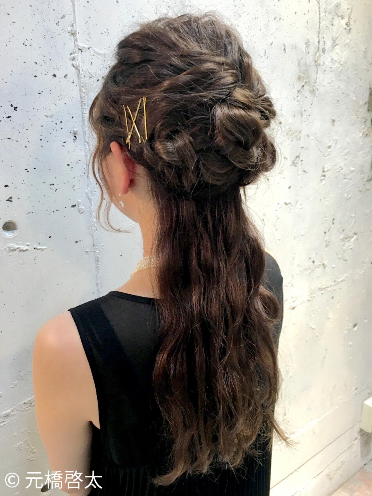 ショート ロング 簡単ヘアアレンジ 大人かわいいヘアスタイルや髪型の写真・画像