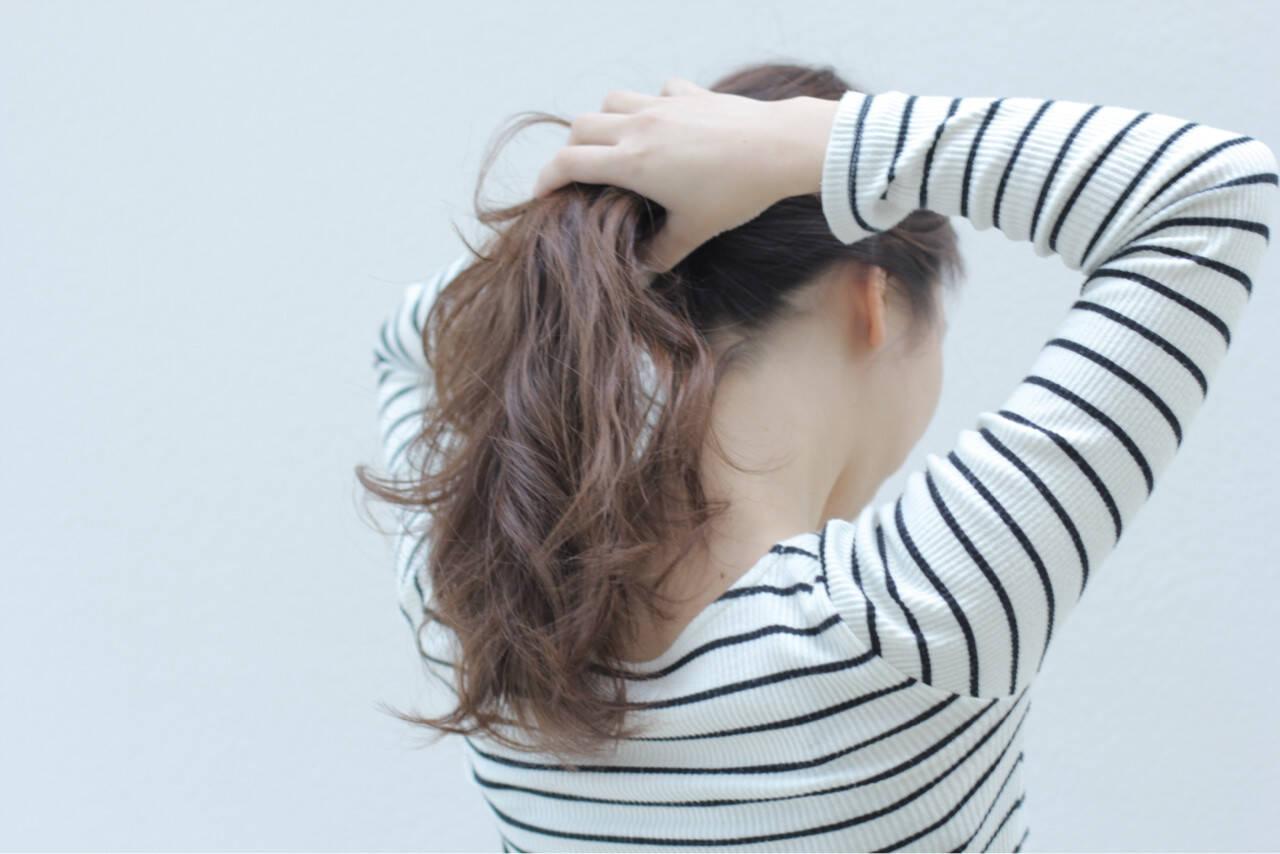 ラベンダー ハイライト ラベンダーアッシュ ヘアアレンジヘアスタイルや髪型の写真・画像