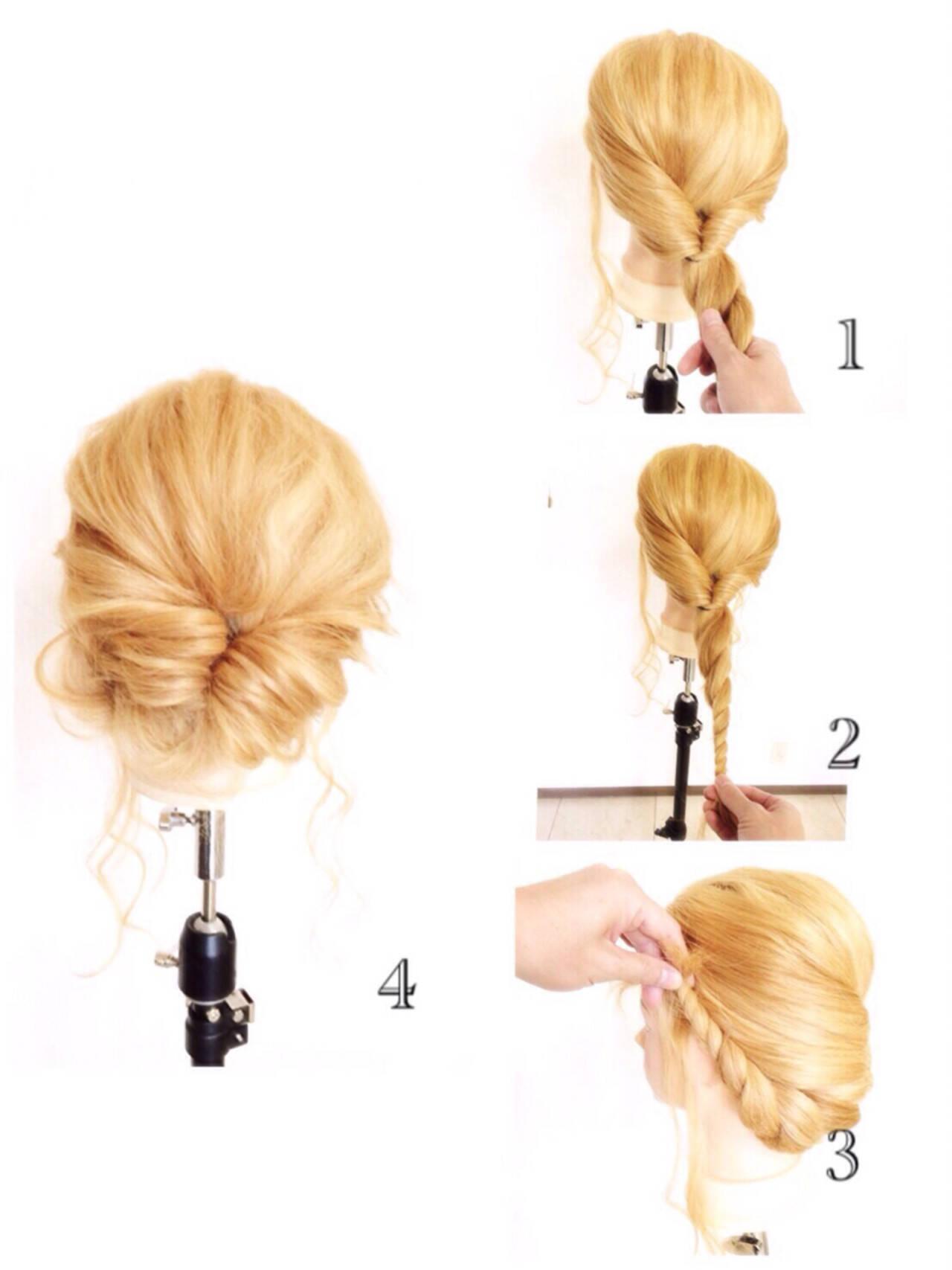 簡単ヘアアレンジ 外国人風 ショート グラデーションカラーヘアスタイルや髪型の写真・画像