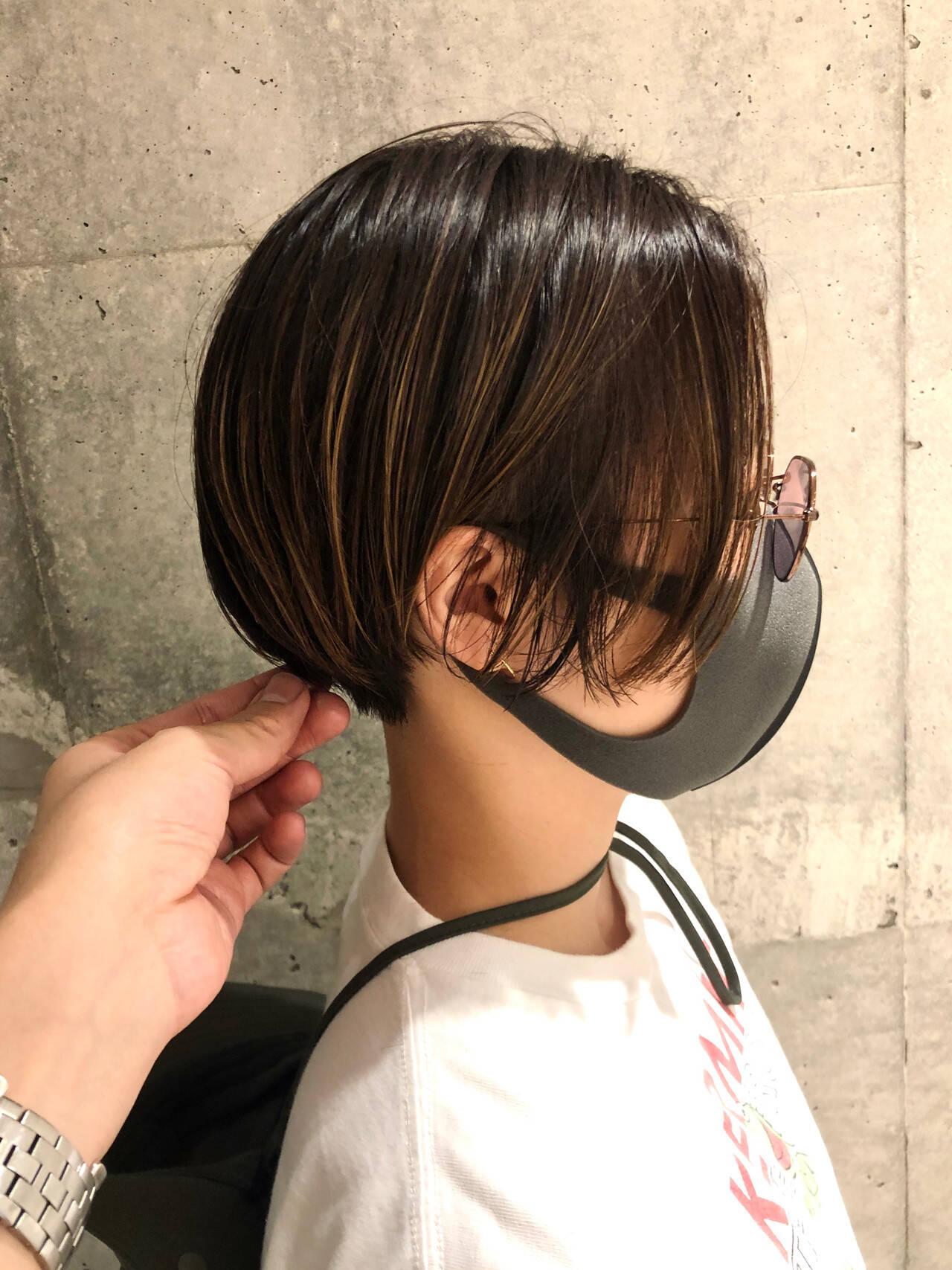 ハンサム ストリート ハンサムショート ハンサムバングヘアスタイルや髪型の写真・画像
