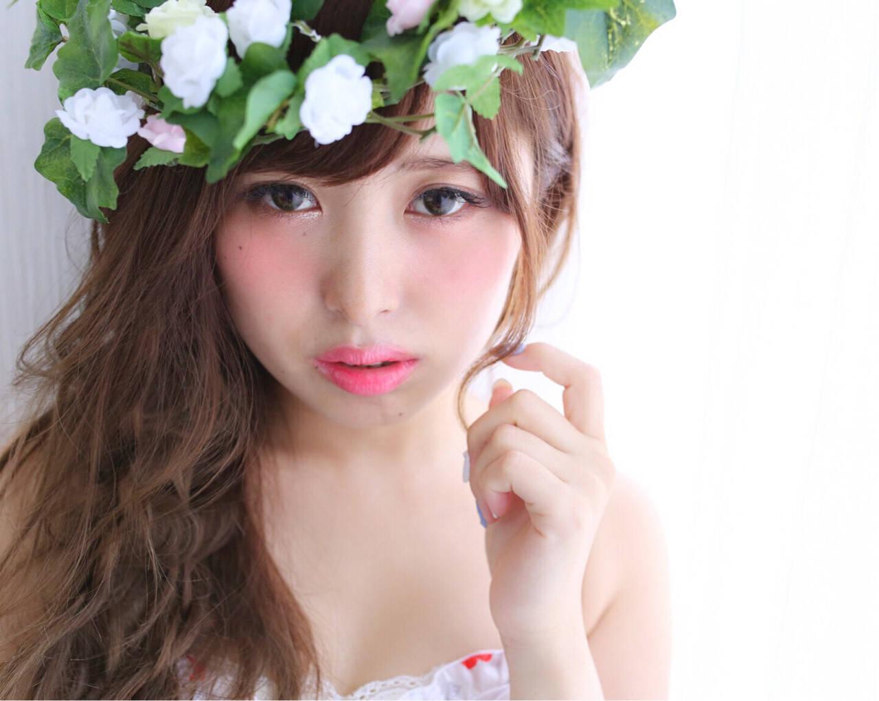 簡単ヘアアレンジ ヘアアレンジ 大人かわいい フェミニンヘアスタイルや髪型の写真・画像
