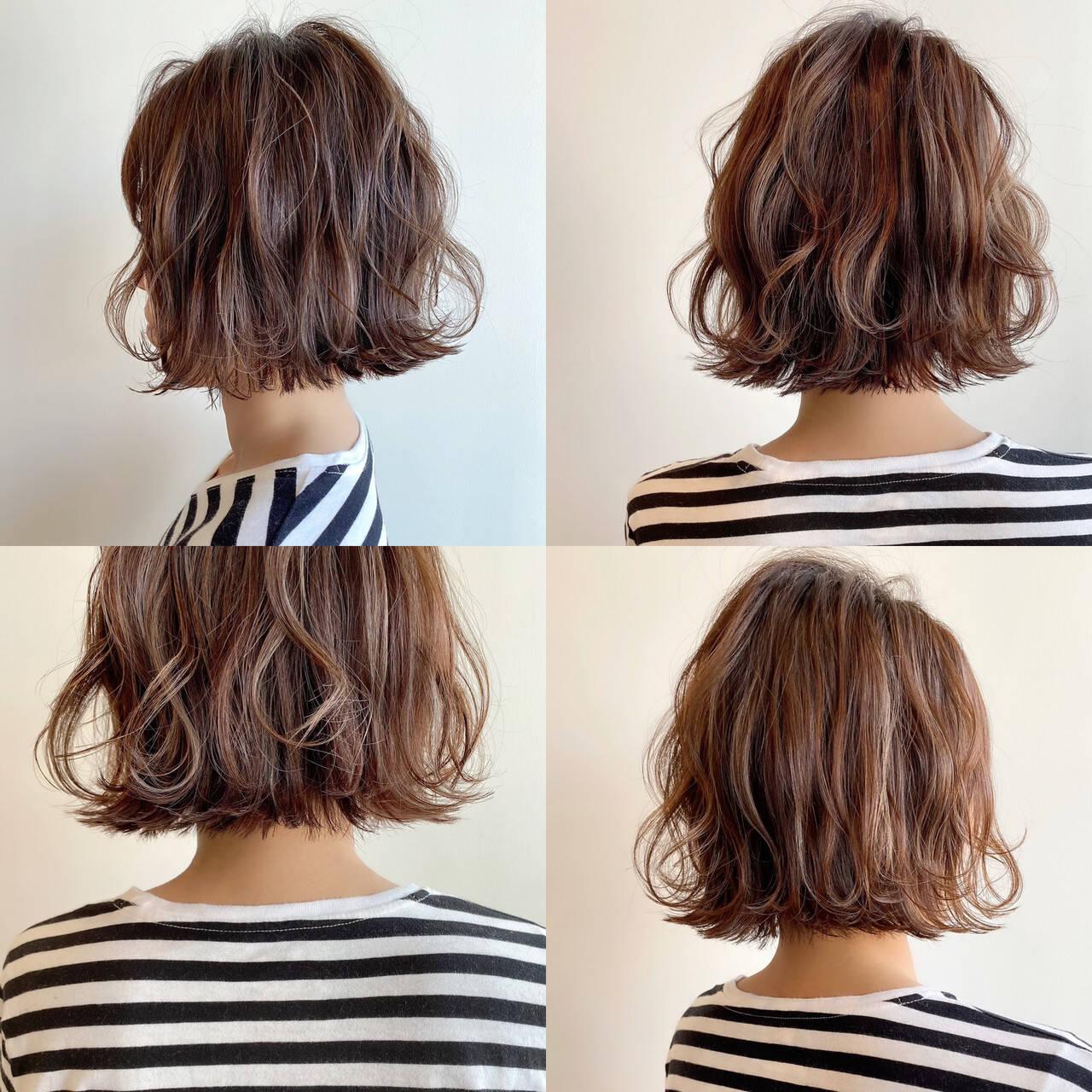 切りっぱなしボブ ショートヘア ボブ ナチュラルヘアスタイルや髪型の写真・画像