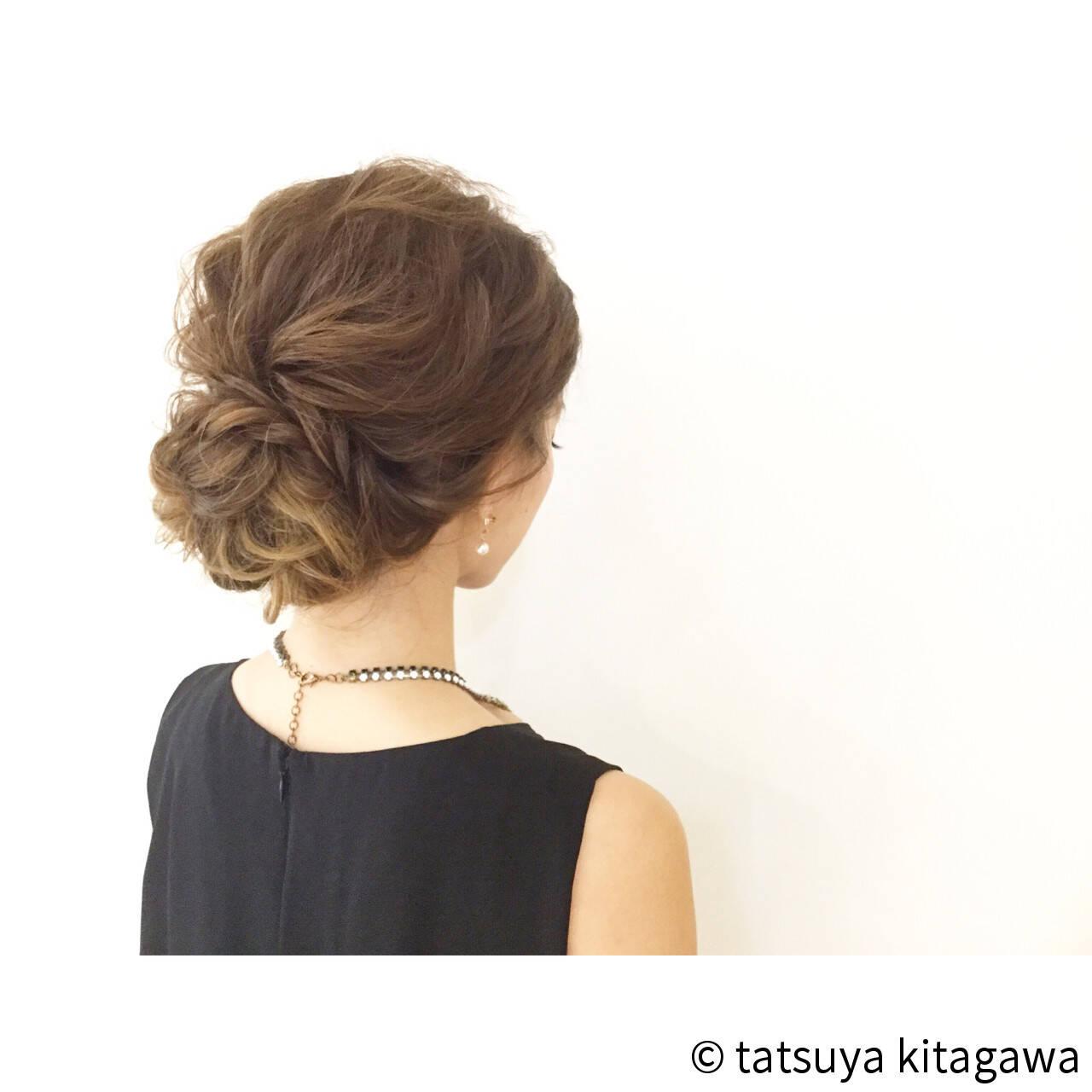 ロング 外国人風 花嫁 ヘアアレンジヘアスタイルや髪型の写真・画像