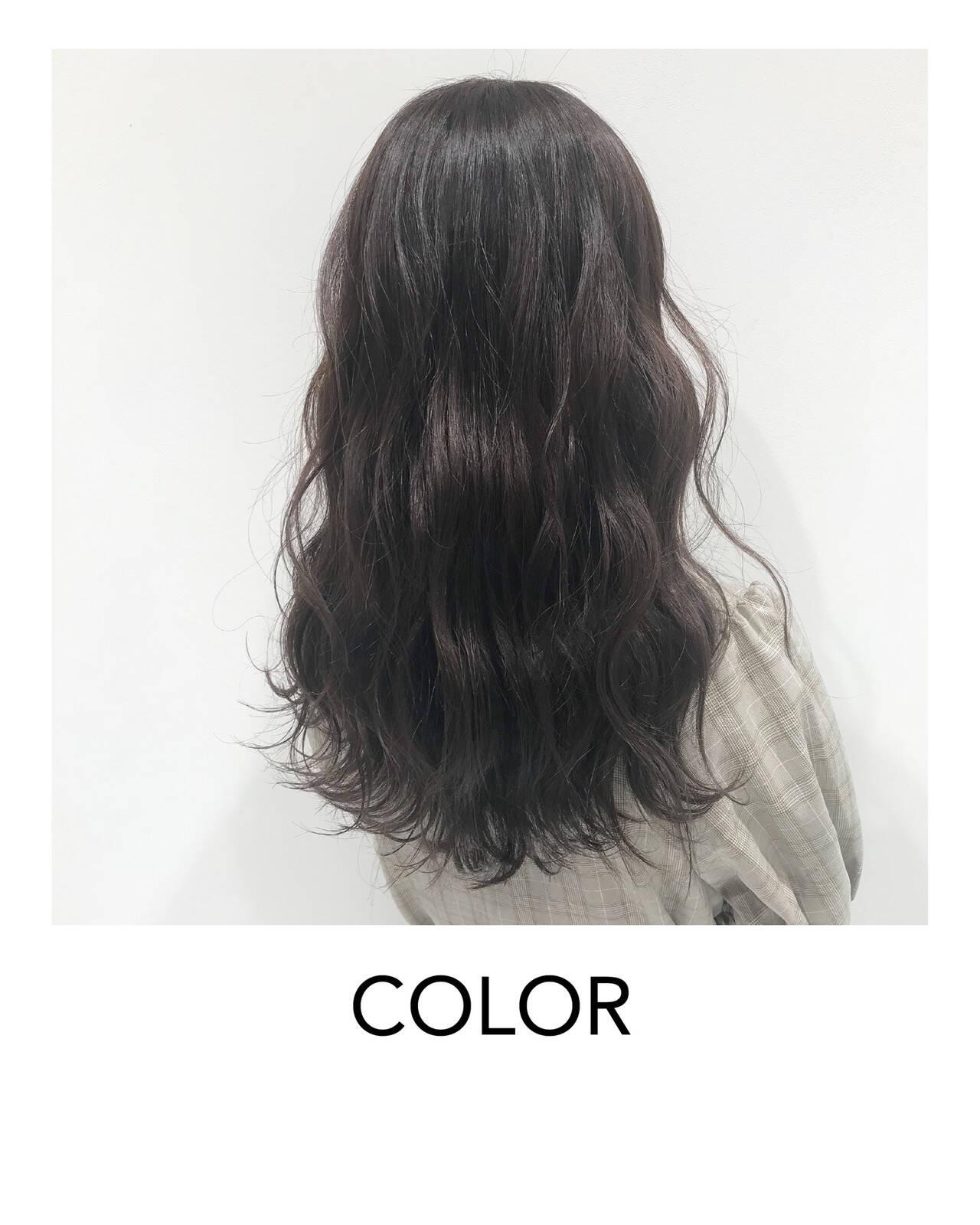 ヘアアレンジ 卒業式 セミロング イメチェンヘアスタイルや髪型の写真・画像