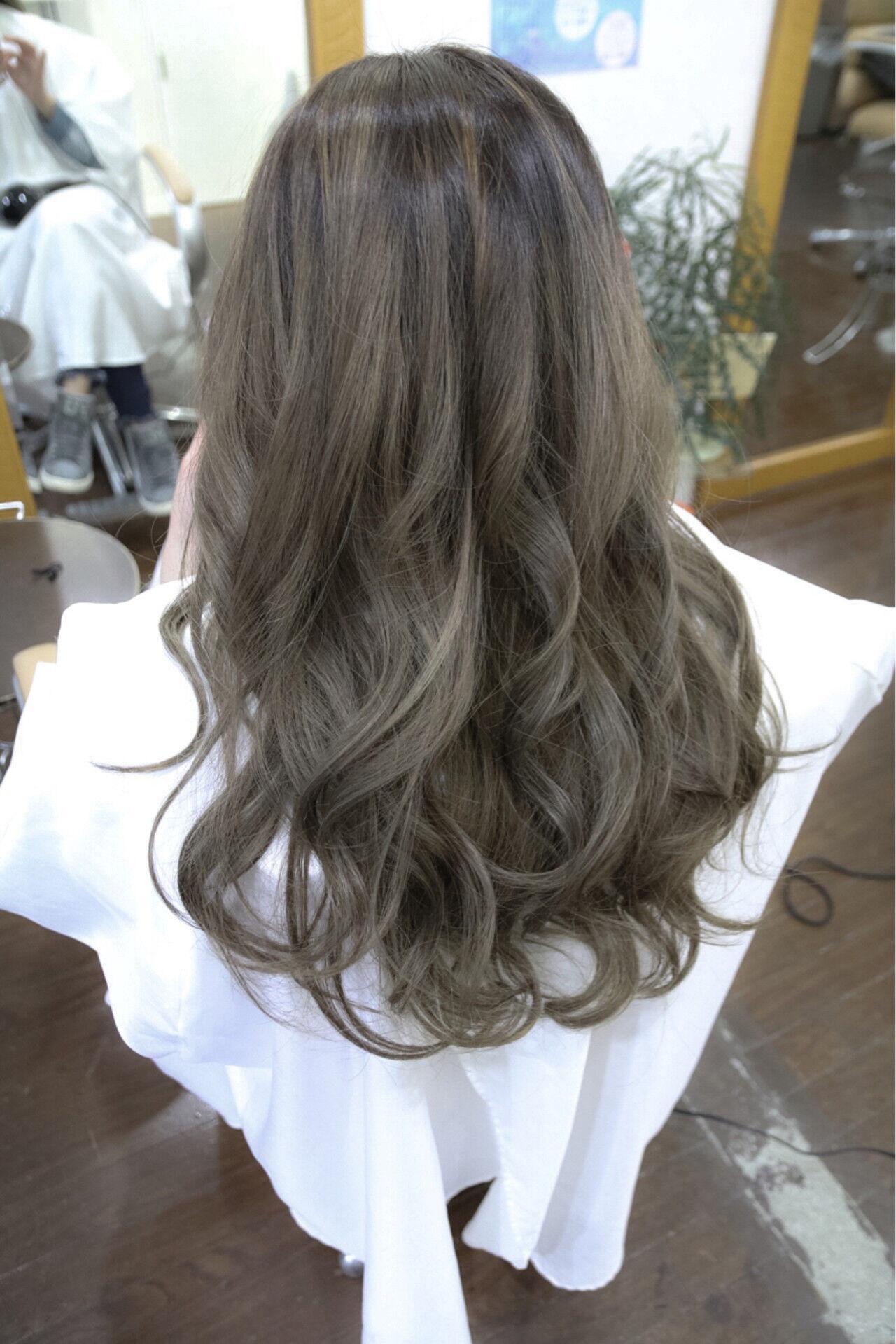 アッシュ グラデーションカラー ストリート 外国人風ヘアスタイルや髪型の写真・画像