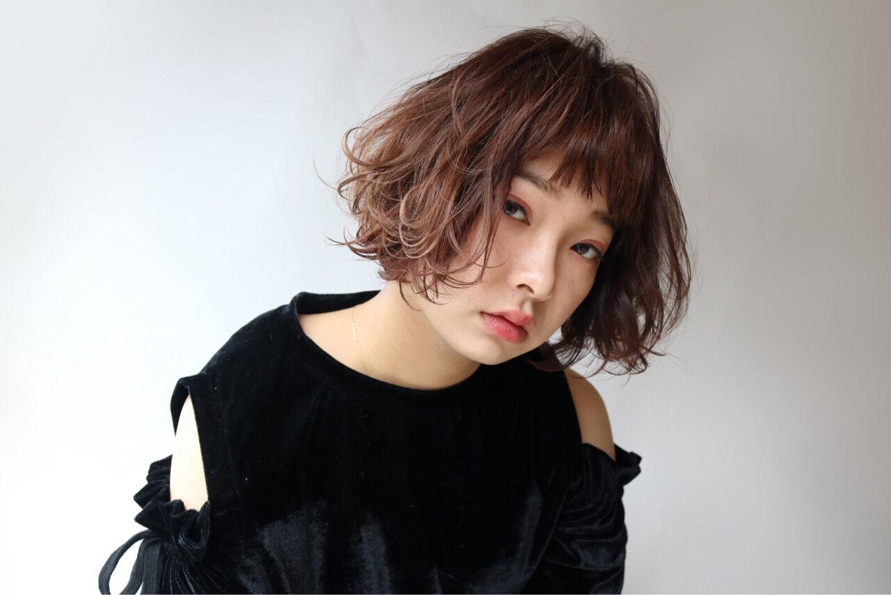 ストリート 外国人風 ニュアンス パーマヘアスタイルや髪型の写真・画像