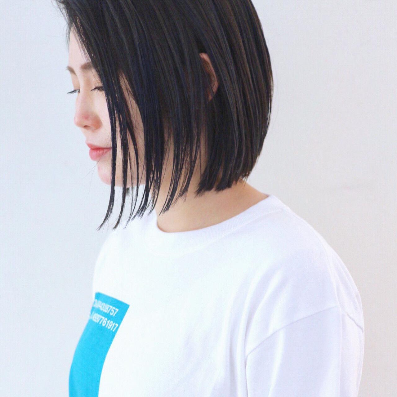 グラデーションカラー バレイヤージュ ハイライト ストリートヘアスタイルや髪型の写真・画像