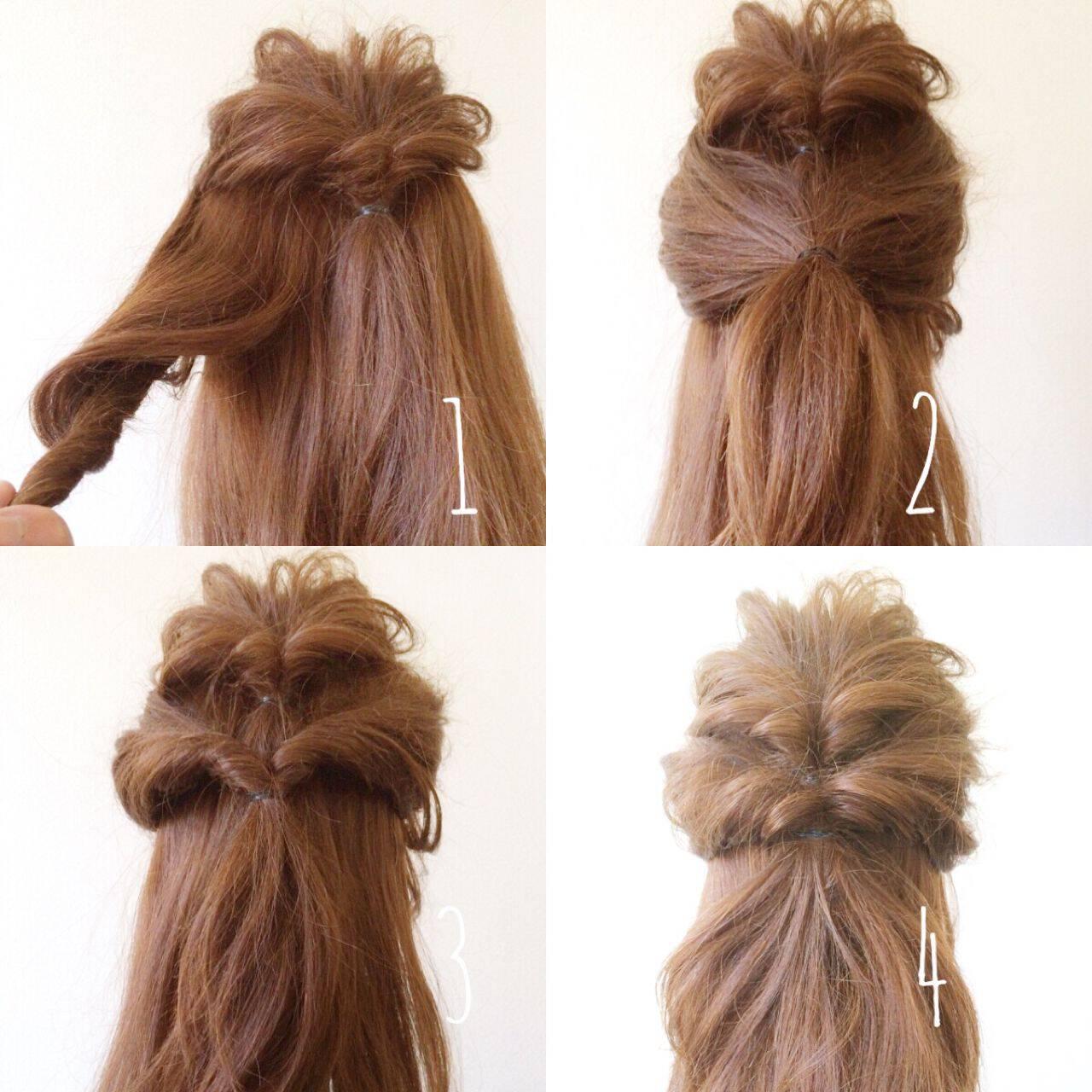 卵型 ゆるふわ 愛され ヘアアレンジヘアスタイルや髪型の写真・画像