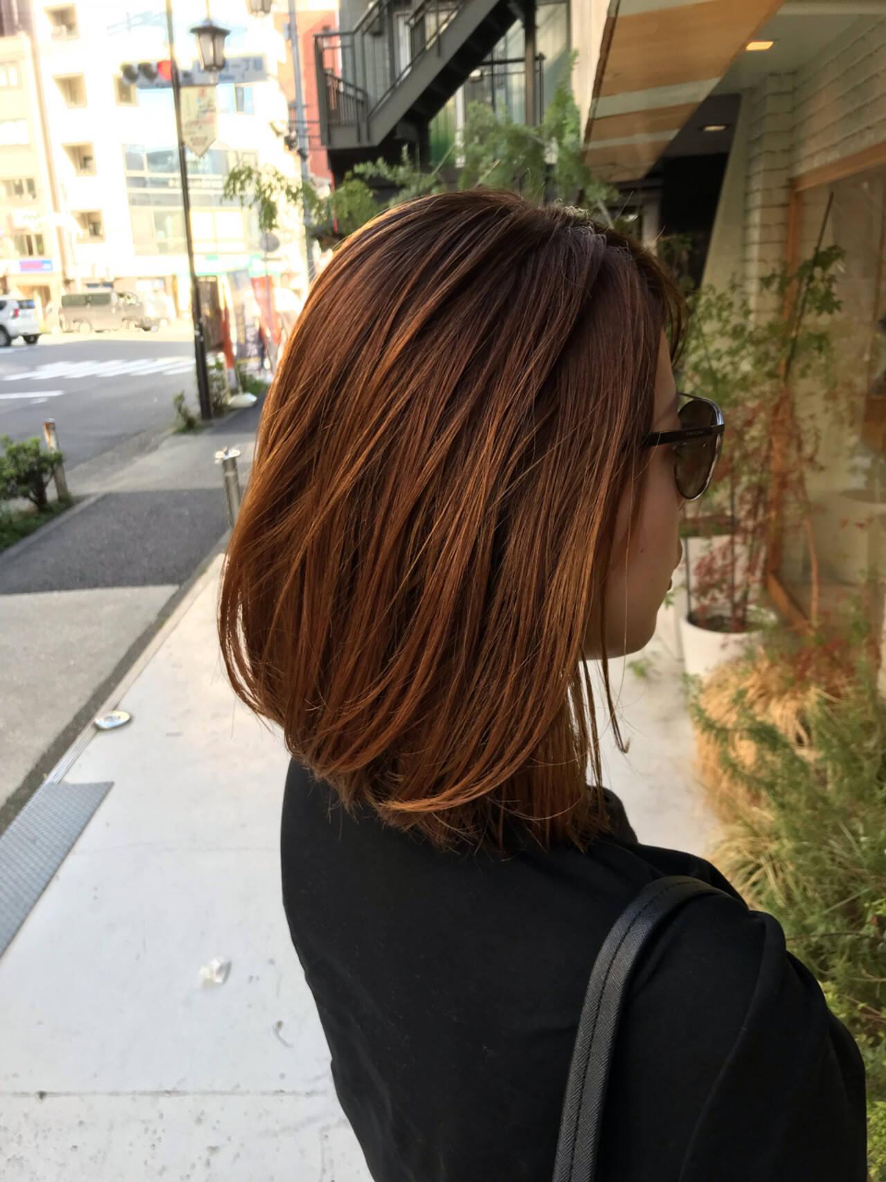 上品 エレガント ミディアム 女子力ヘアスタイルや髪型の写真・画像