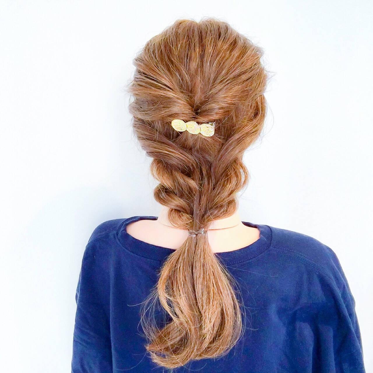 上品 ロング デート エレガントヘアスタイルや髪型の写真・画像