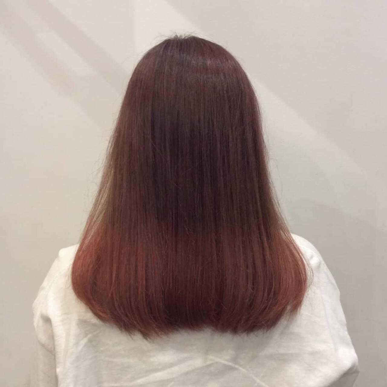 デート ピンク ナチュラル可愛い かわいいヘアスタイルや髪型の写真・画像