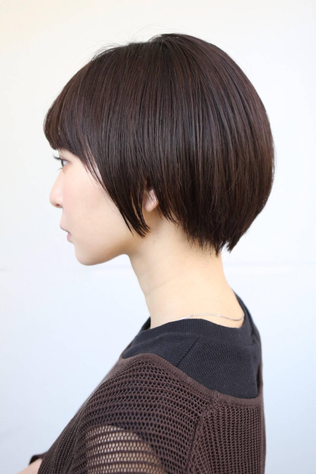 ショート ベリーショート 大人可愛い ショートヘアヘアスタイルや髪型の写真・画像