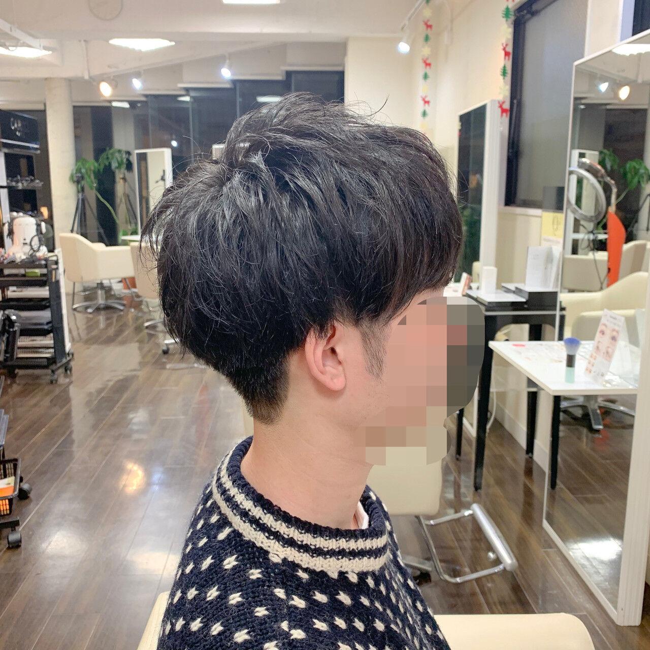 ショート メンズマッシュ メンズヘア メンズカットヘアスタイルや髪型の写真・画像