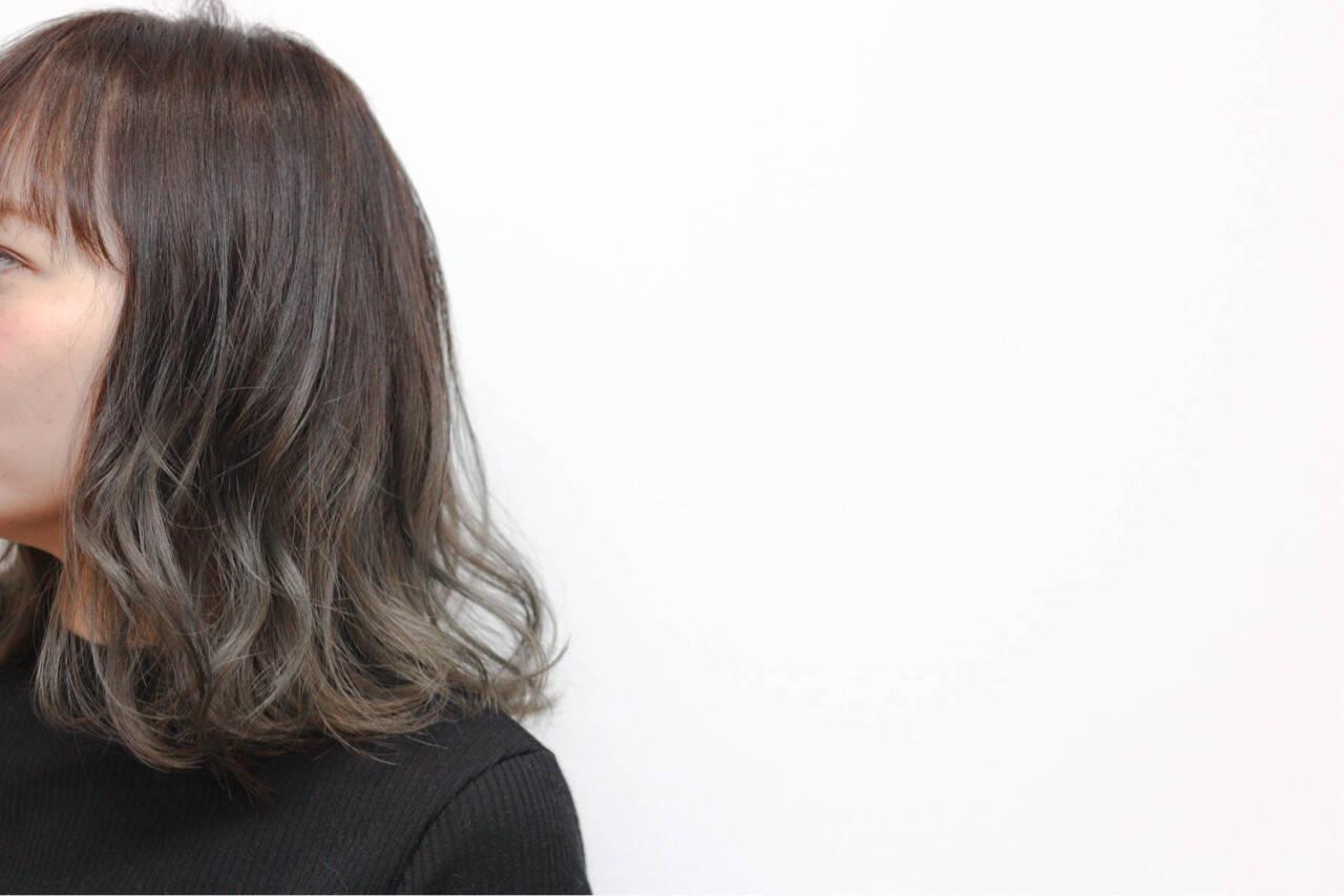 色気 ストリート 暗髪 ボブヘアスタイルや髪型の写真・画像