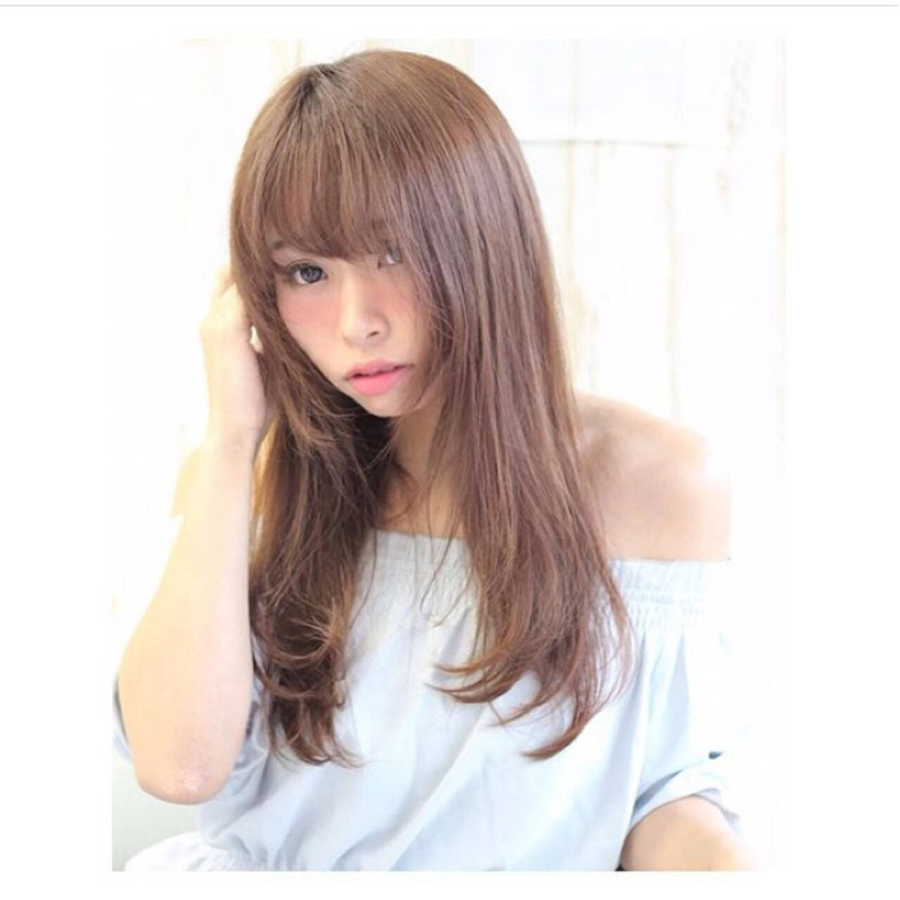 大人女子 色気 ヘアアレンジ ナチュラルヘアスタイルや髪型の写真・画像