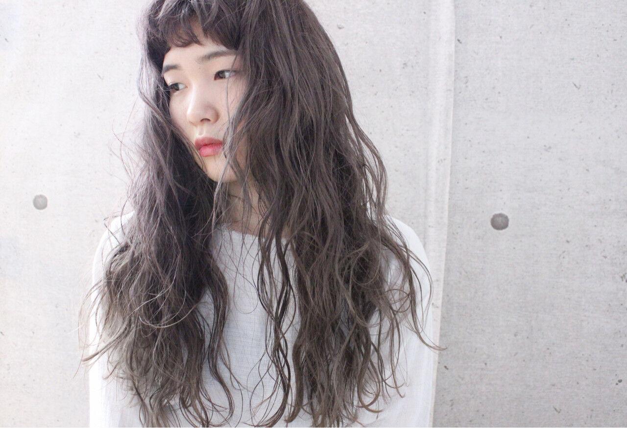 愛され グレージュ ナチュラル ゆるふわヘアスタイルや髪型の写真・画像