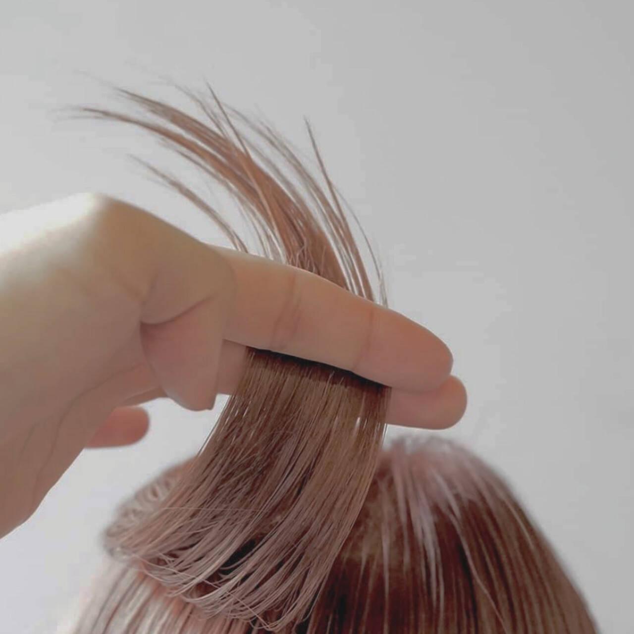 ナチュラル ミディアム 透明感カラー お洒落ヘアスタイルや髪型の写真・画像