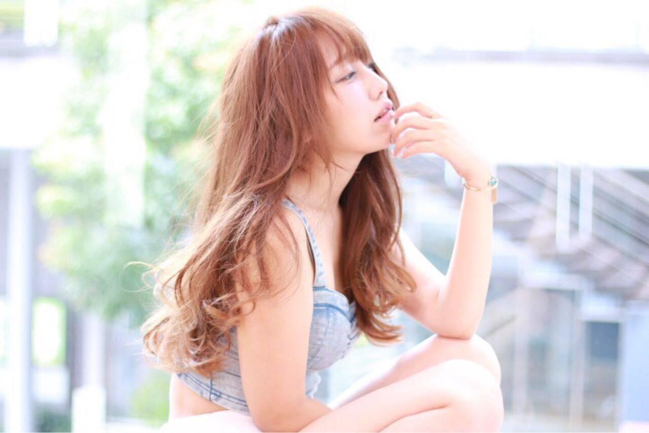 愛され ゆるふわ 大人かわいい ストリートヘアスタイルや髪型の写真・画像
