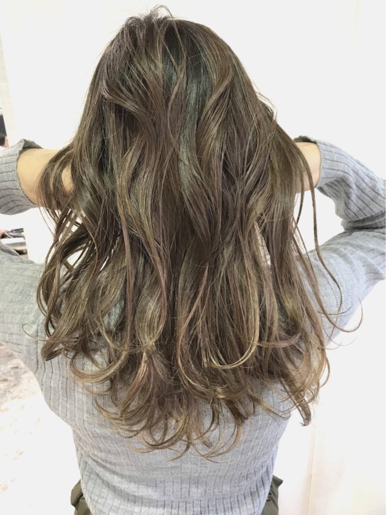 デート こなれ感 ロング エレガントヘアスタイルや髪型の写真・画像