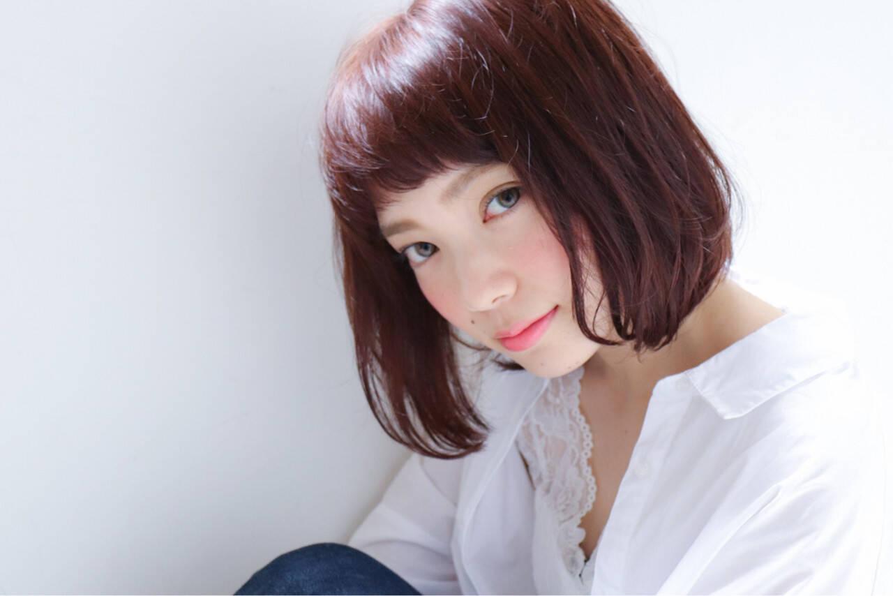 色気 ナチュラル 秋 透明感ヘアスタイルや髪型の写真・画像