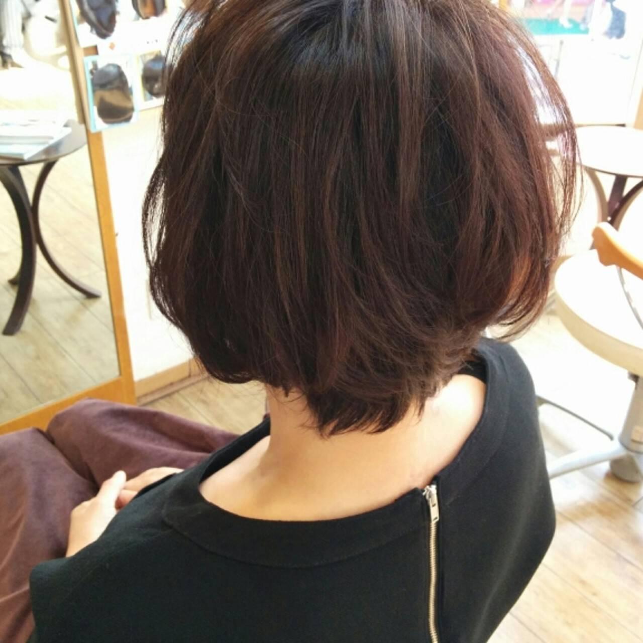 パーマ ゆるふわ 暗髪 大人かわいいヘアスタイルや髪型の写真・画像