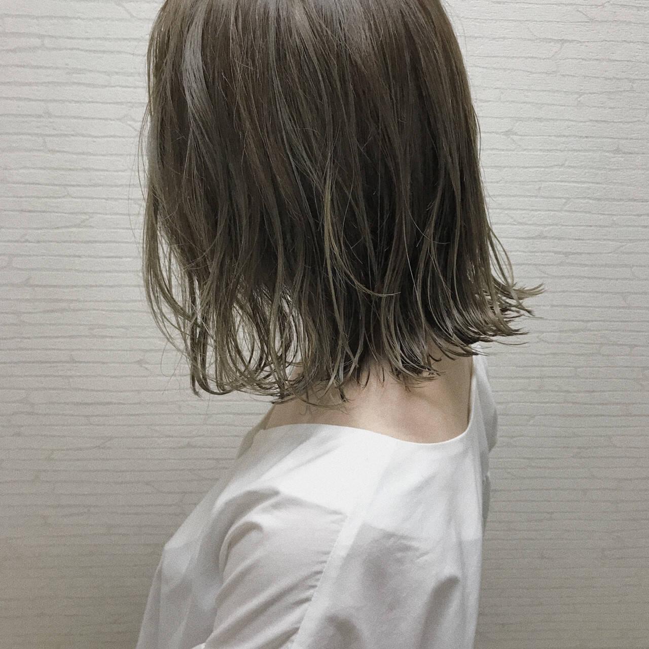 ボブ 外国人風カラー ナチュラル 女子会ヘアスタイルや髪型の写真・画像