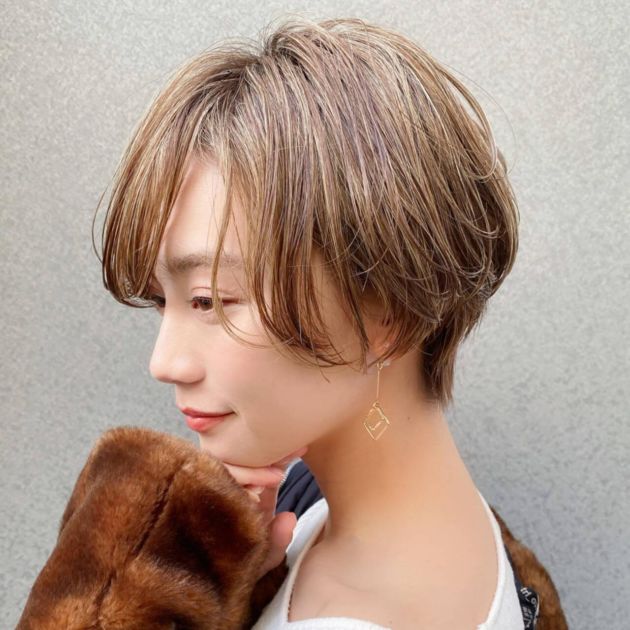 ミニボブ ショートボブ ショートヘア 大人可愛いヘアスタイルや髪型の写真・画像