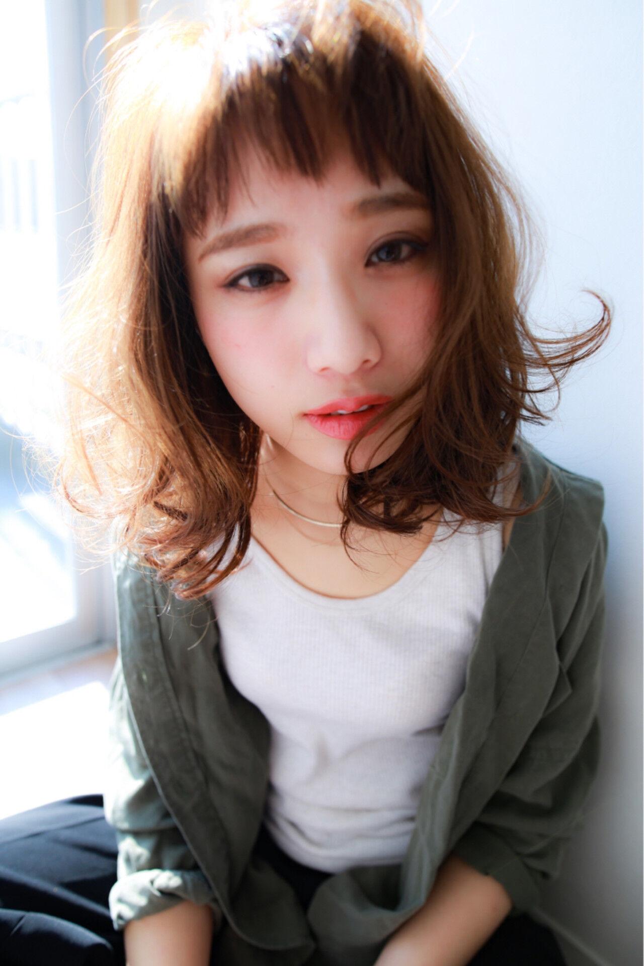 ウルフカット 色気 マッシュ ショートバングヘアスタイルや髪型の写真・画像